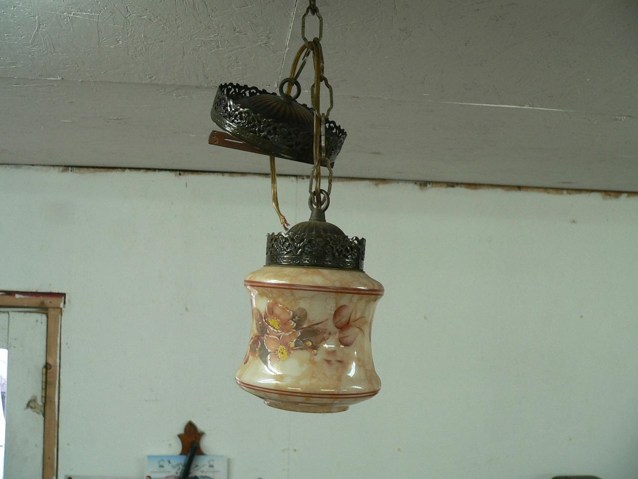 Petite lampe suspendu # 4041