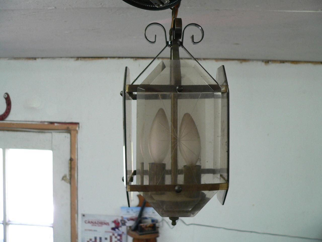Lampe suspendu # 4056