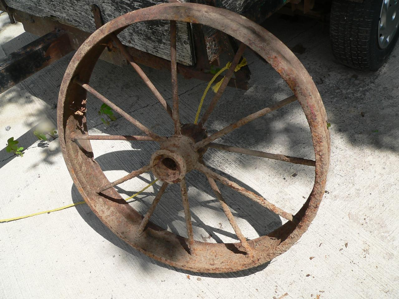 Roue antique # 4328.5