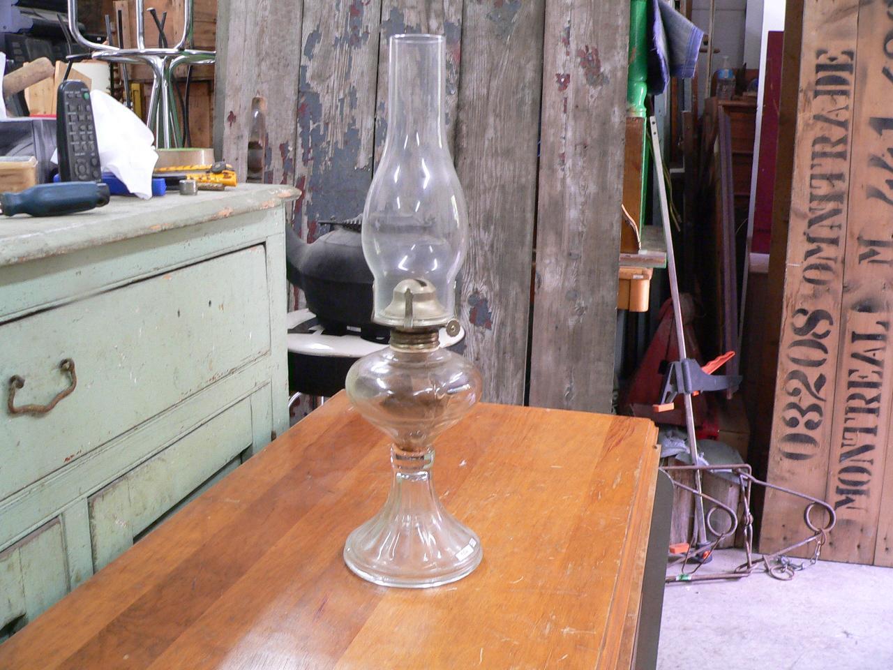 Lampe a l'huile # 4356