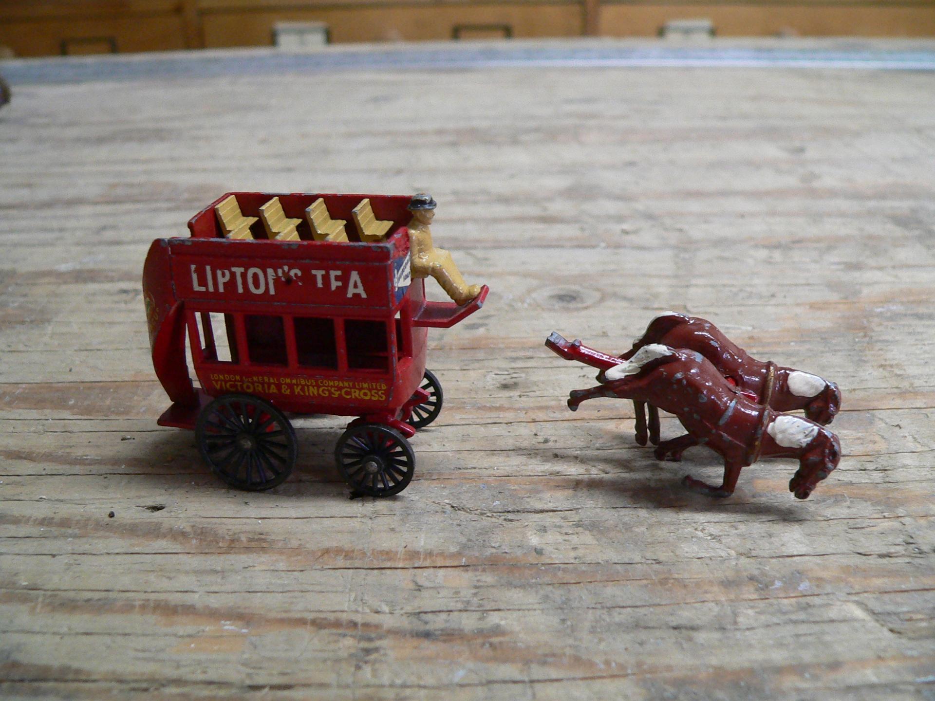y-12 horse bus lipton tea # 4465.27