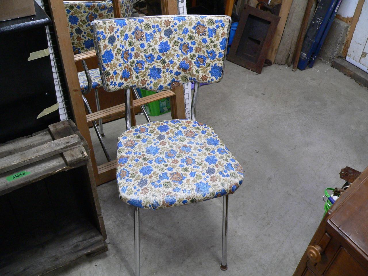 Chaise vintage # 4500