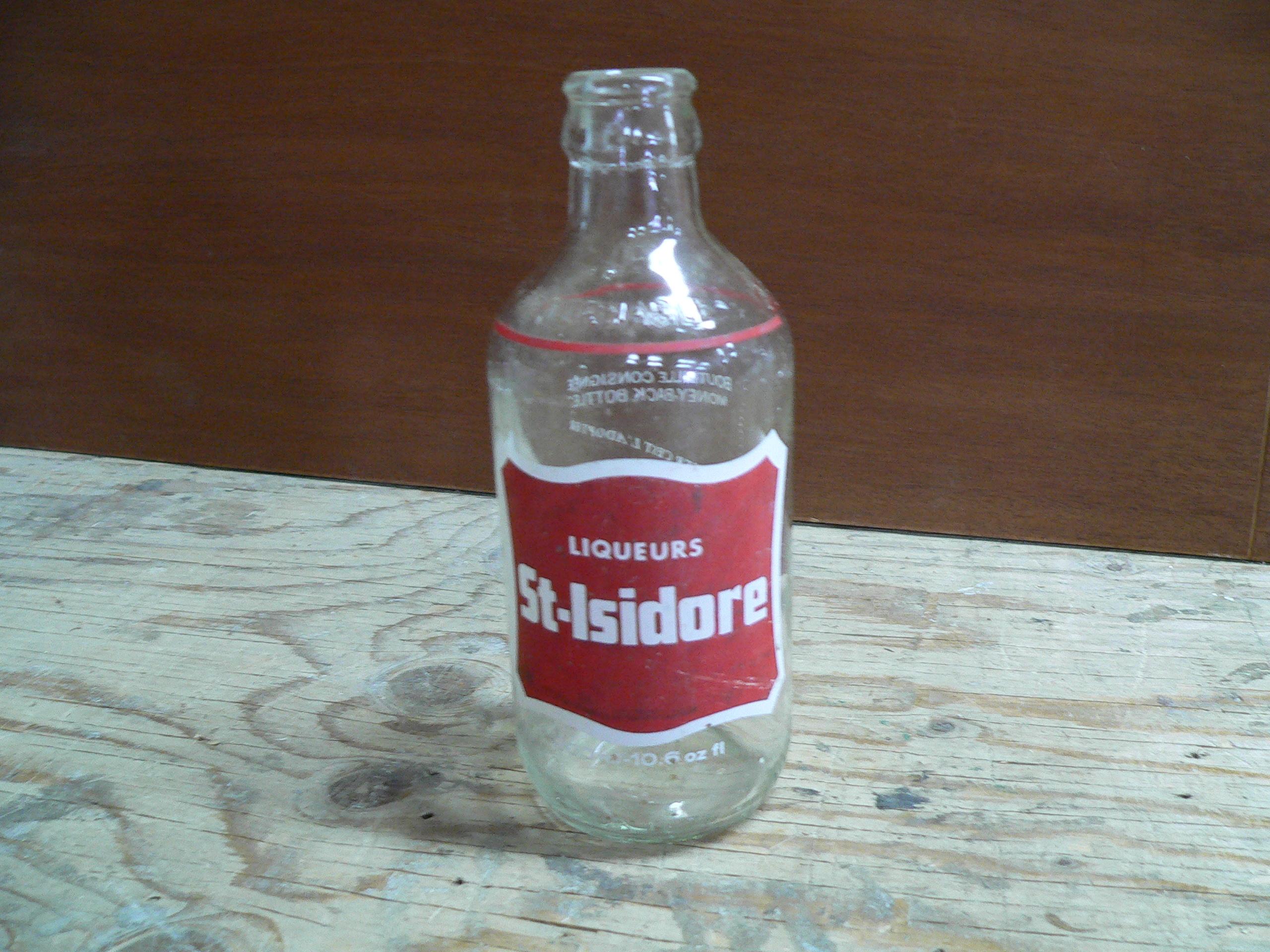Bouteille antique liqueur st-isidore # 4521.2