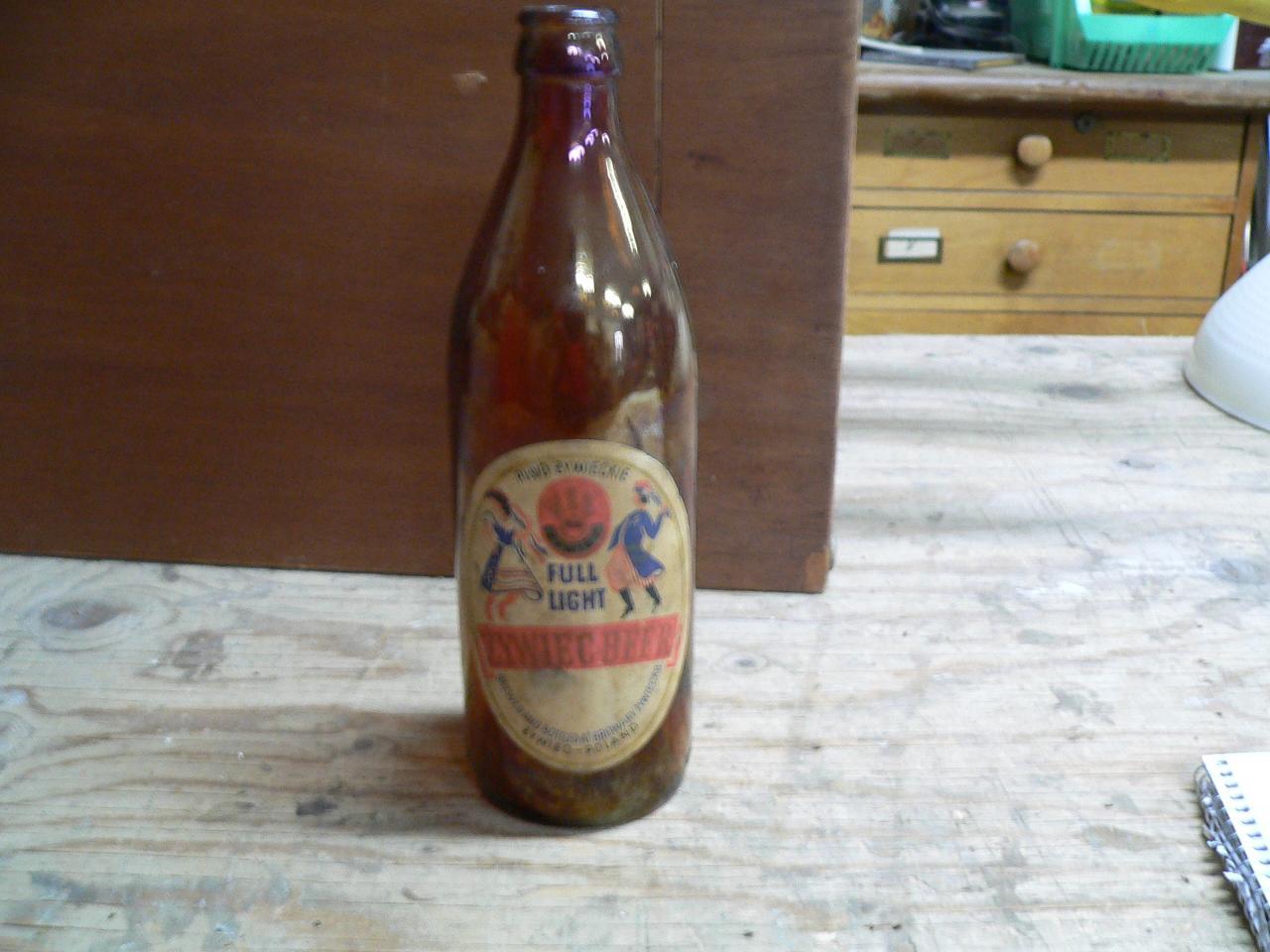 Bouteille biere de la pologne # 4556.12