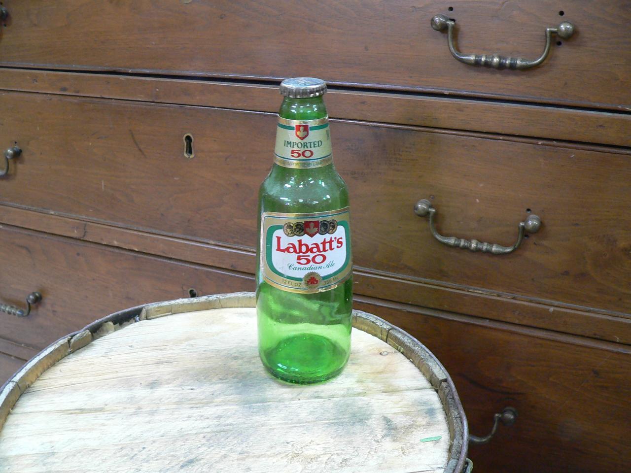 Bouteille biere labatt's 50 # 4664.8