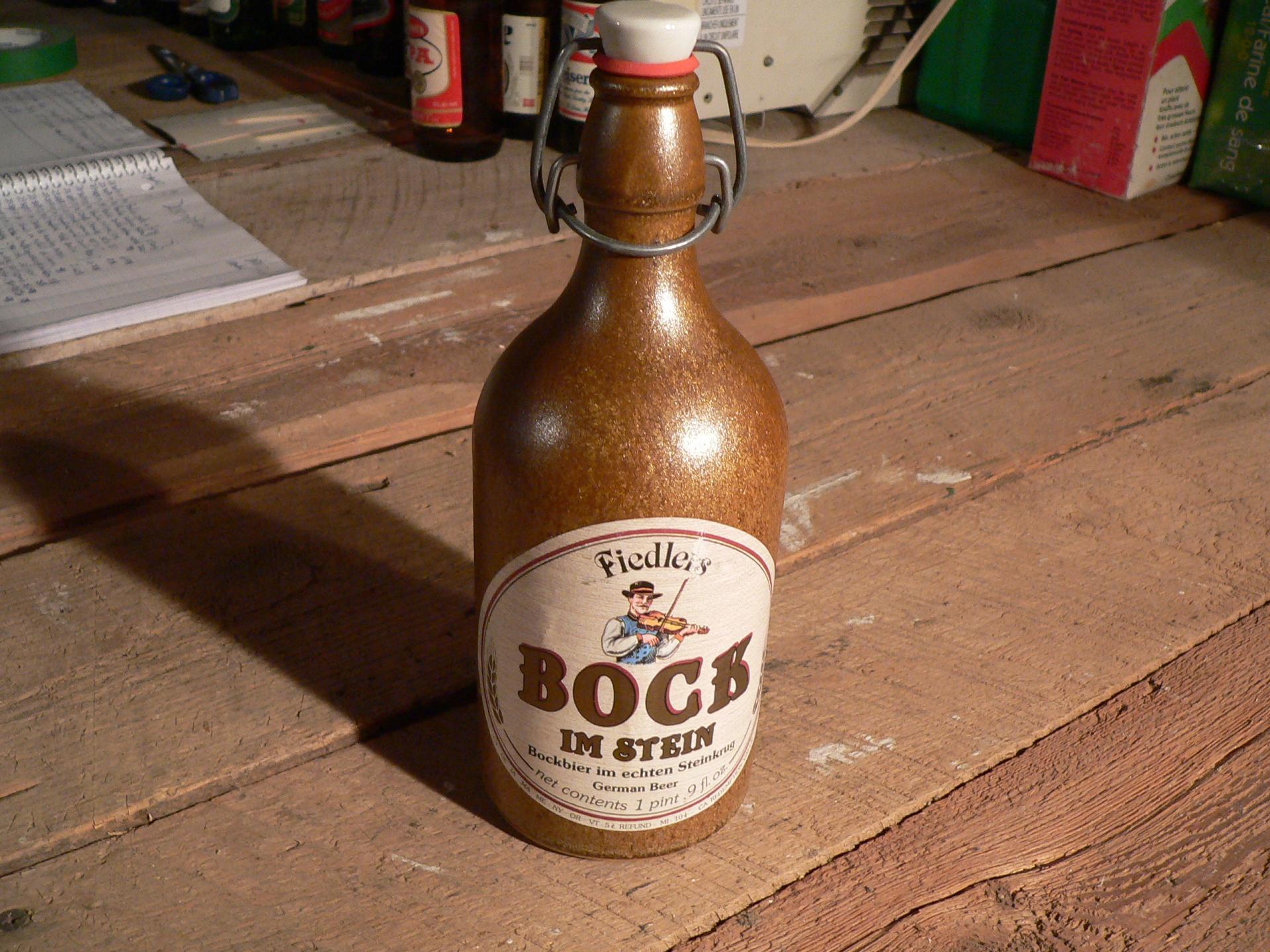 Bière bock im stein # 4739.1