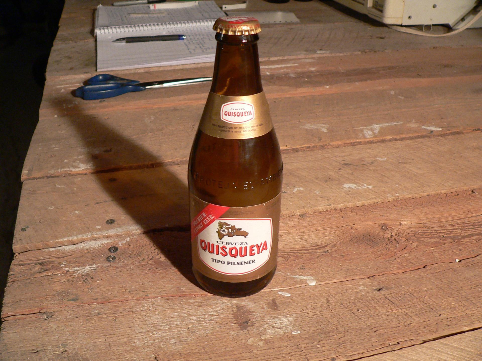 Bière cerveza quisqueya # 4739.19