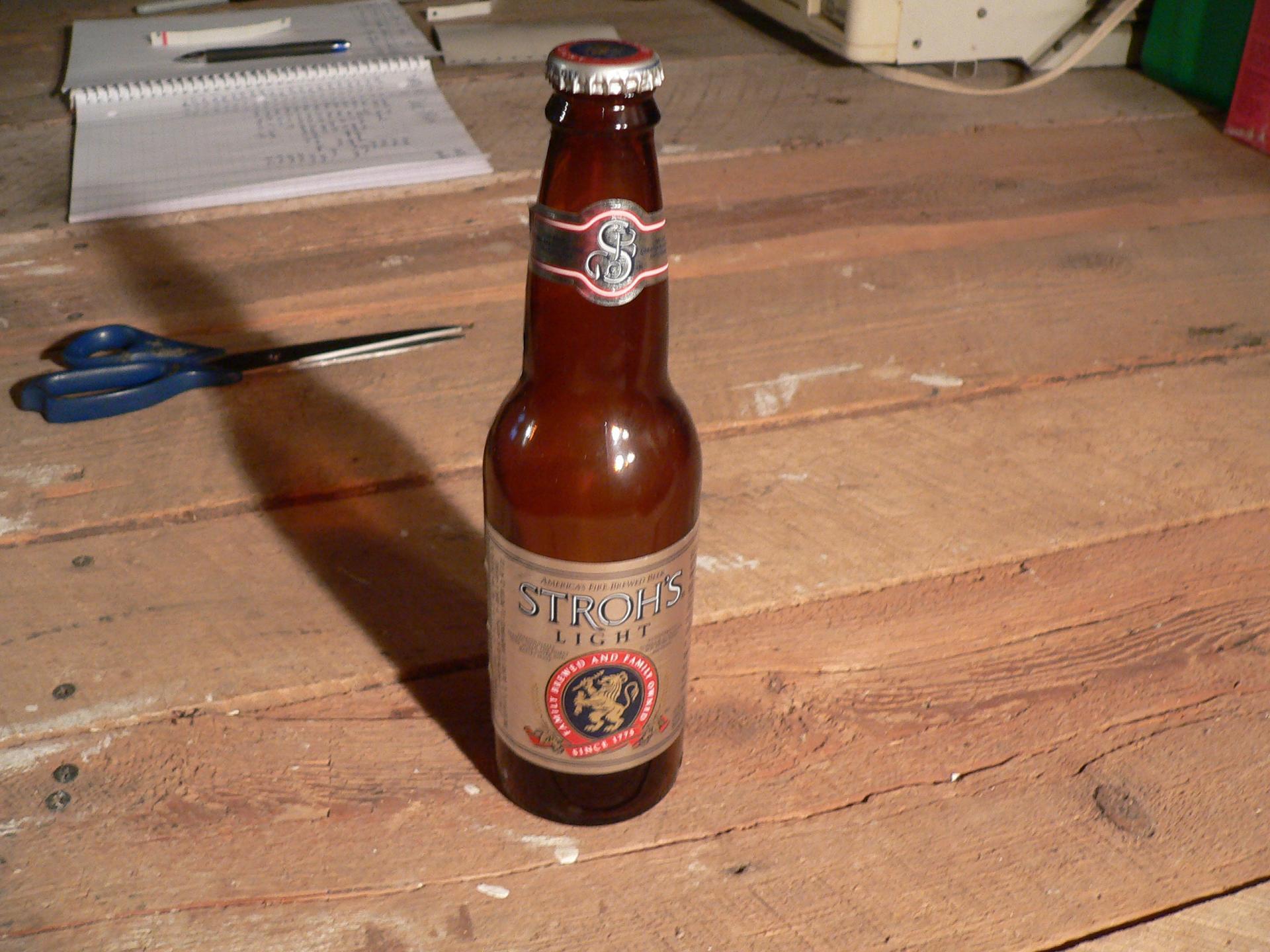 Bière stroh's light # 4739.24