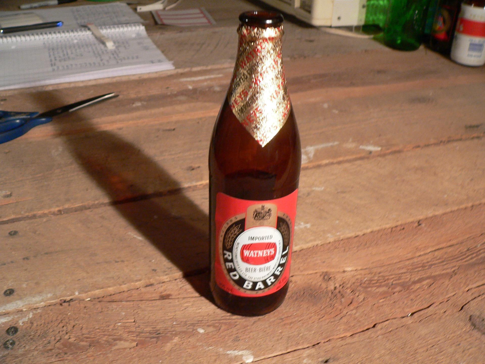 Bière red barrel watneys # 4739.30
