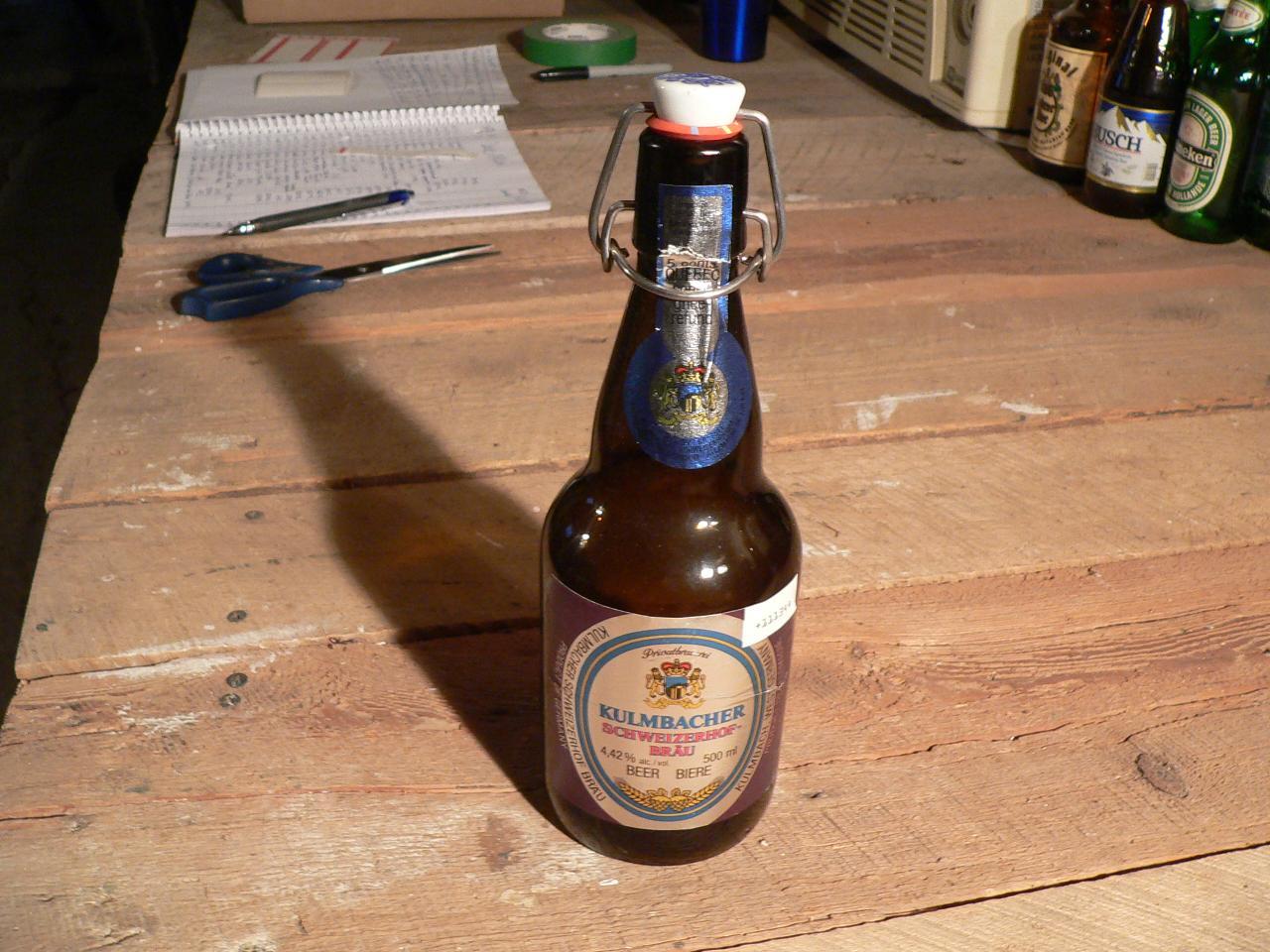 Biere kulmbacher schweizerhof-brau # 4739.40