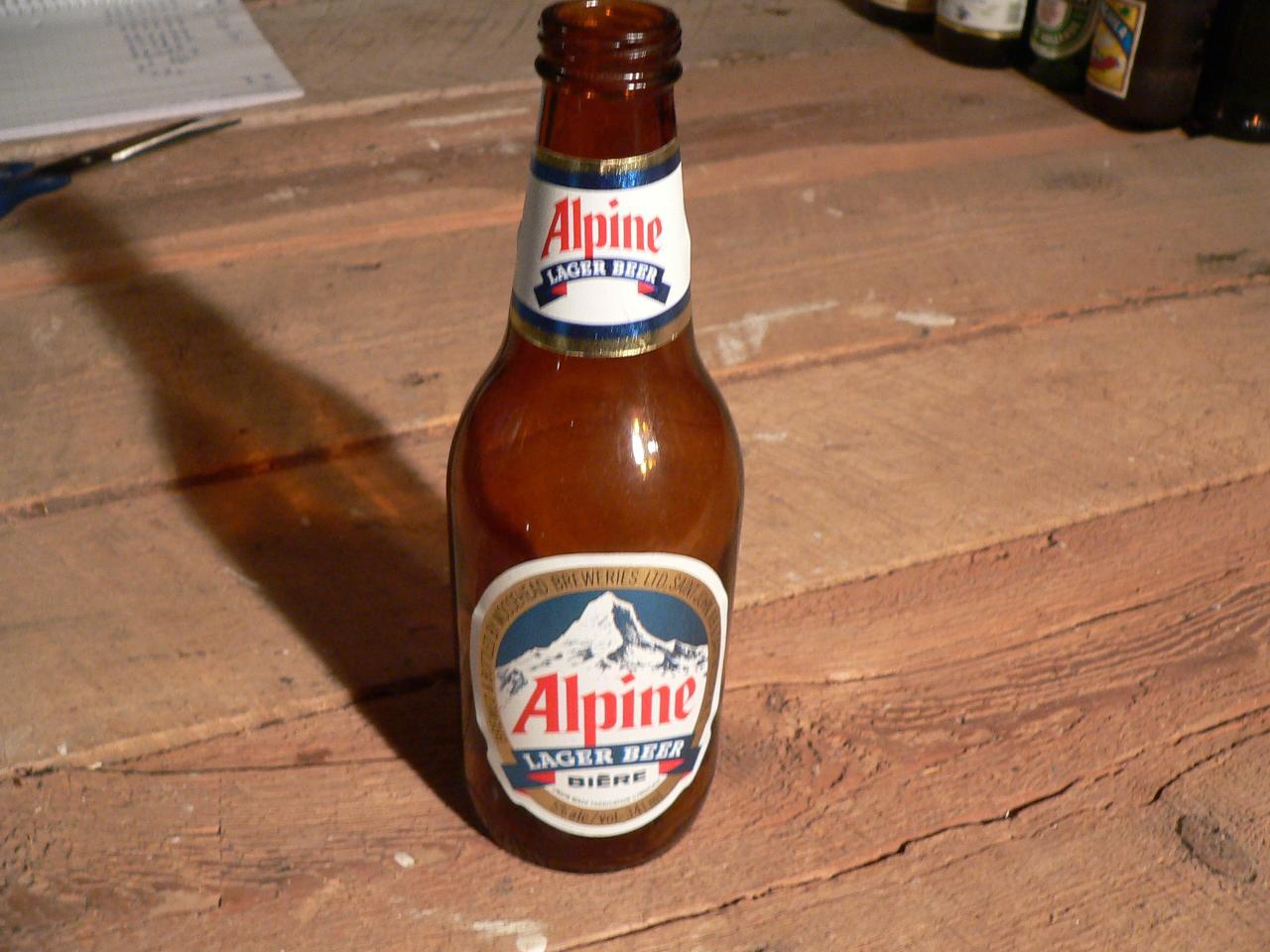 Biere alpine # 4739.47