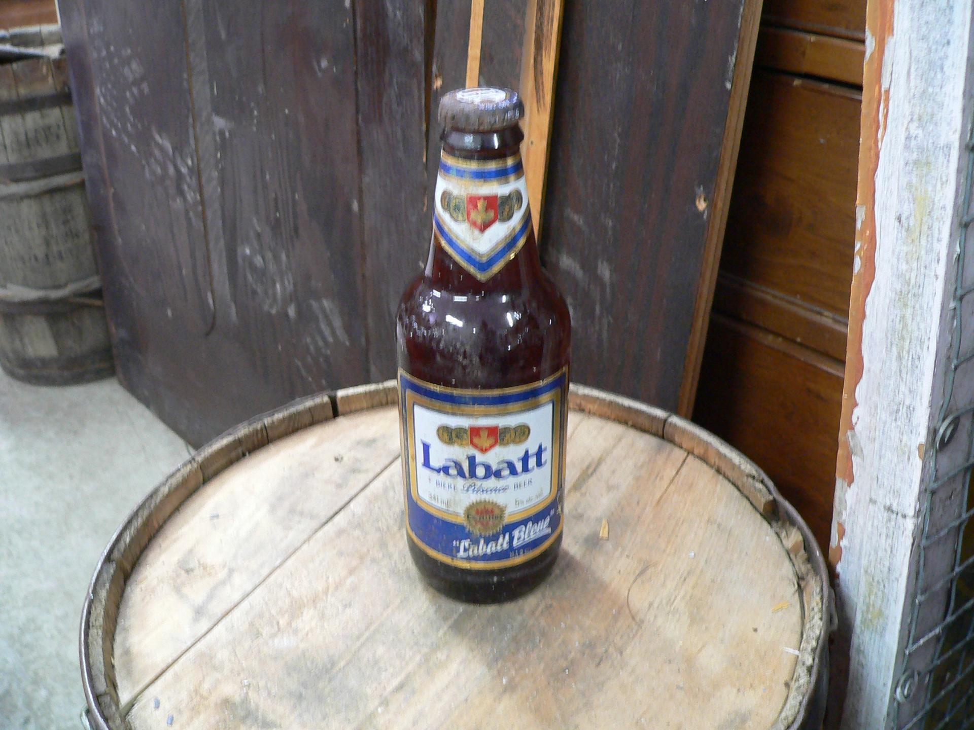 Bouteille biere labatt bleu # 4947.3