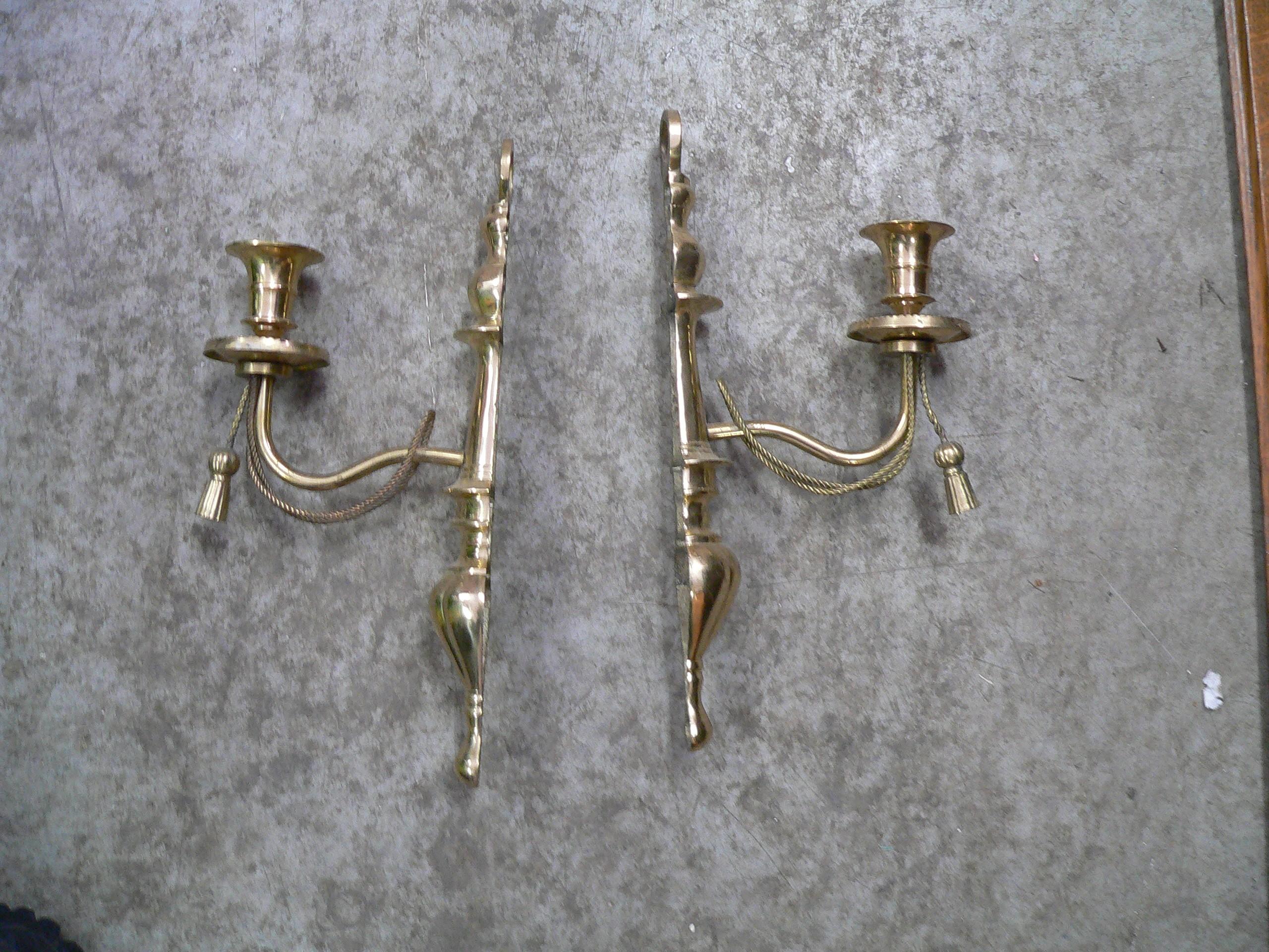 Paire de chandelier muraux # 4979.1