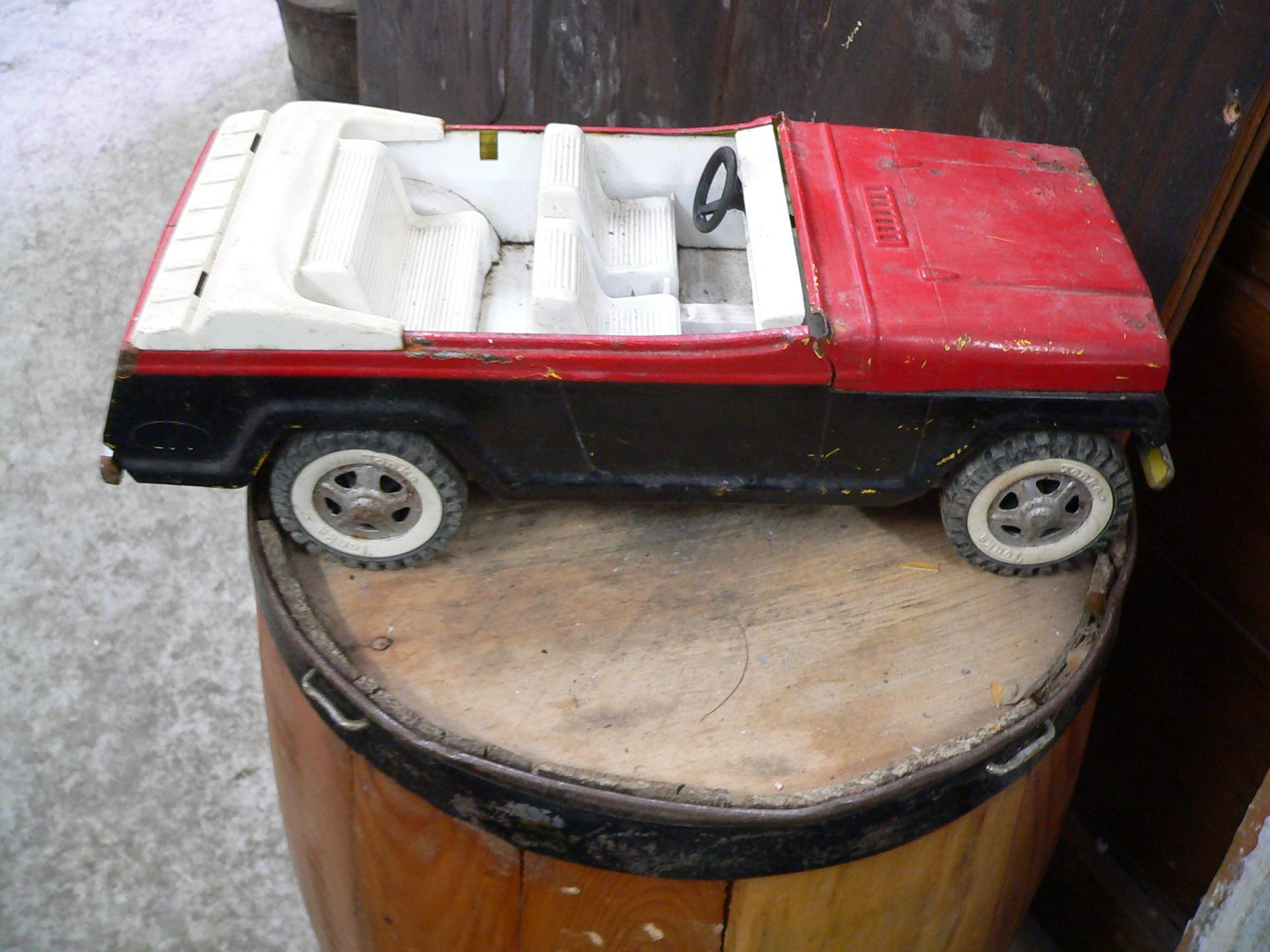 vieux jeep tonka # 4992