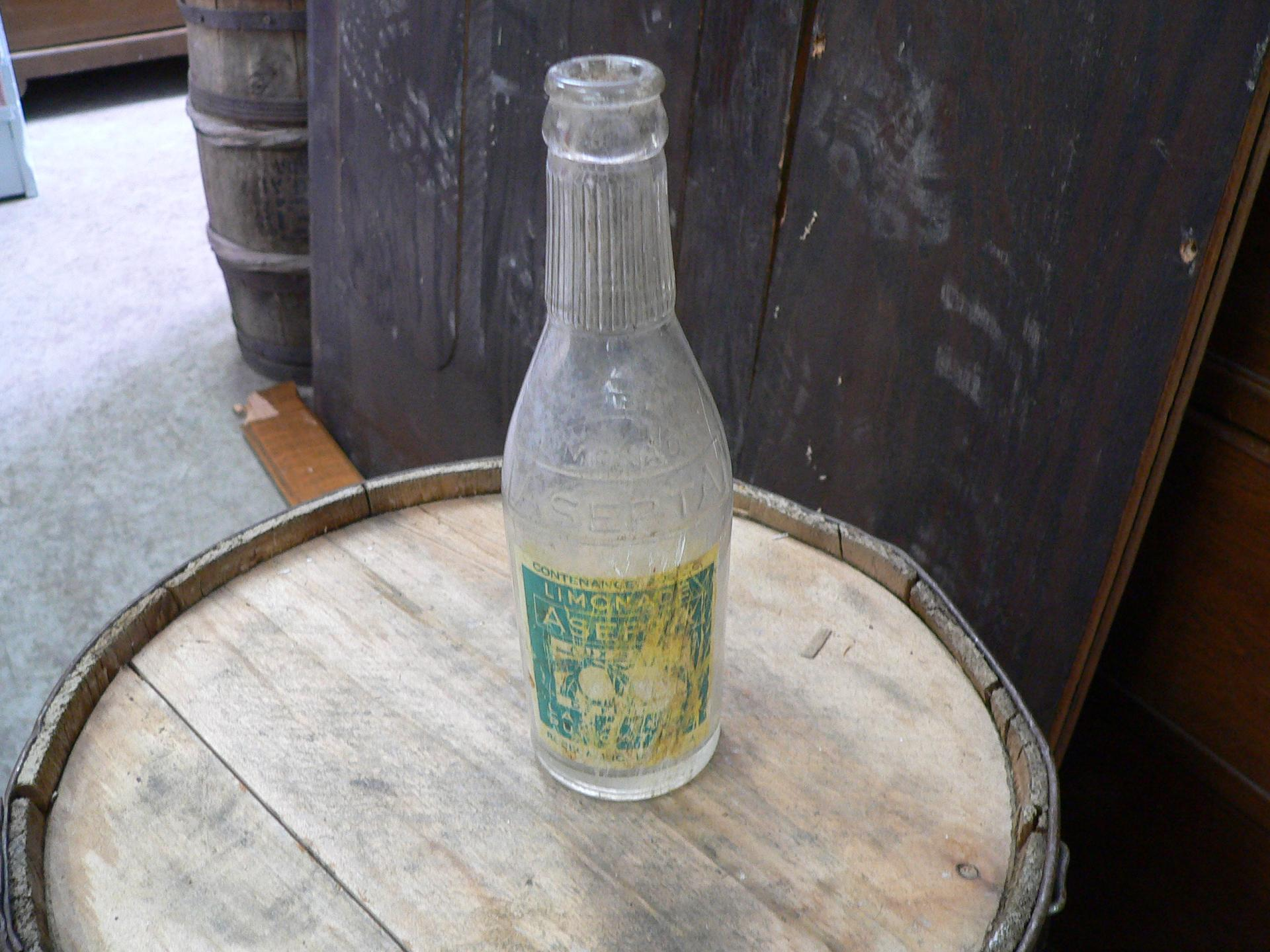 Bouteille antique limonade a septa # 5023. 44