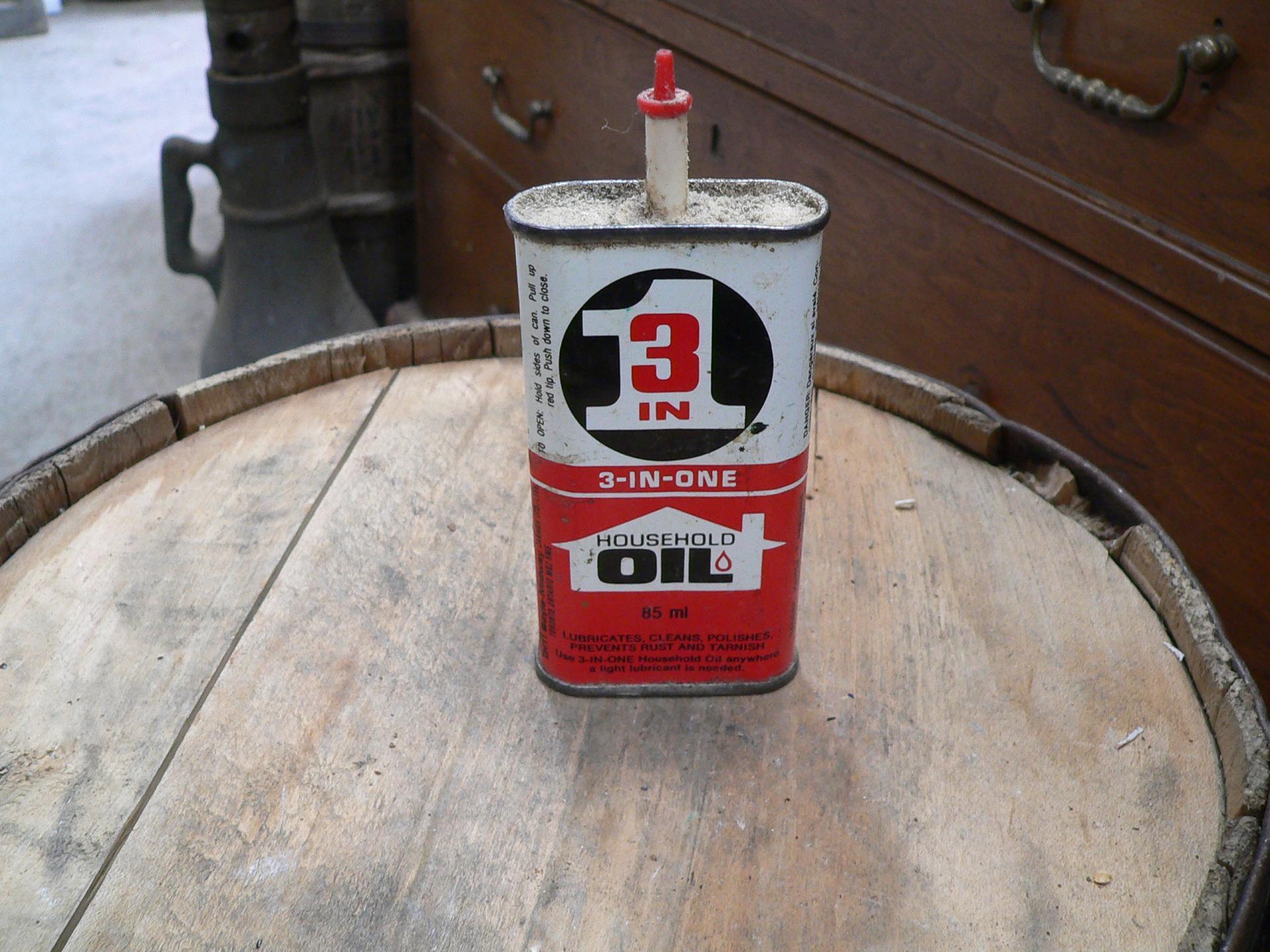 Canne d'huile domestique en tôle # 5099.12