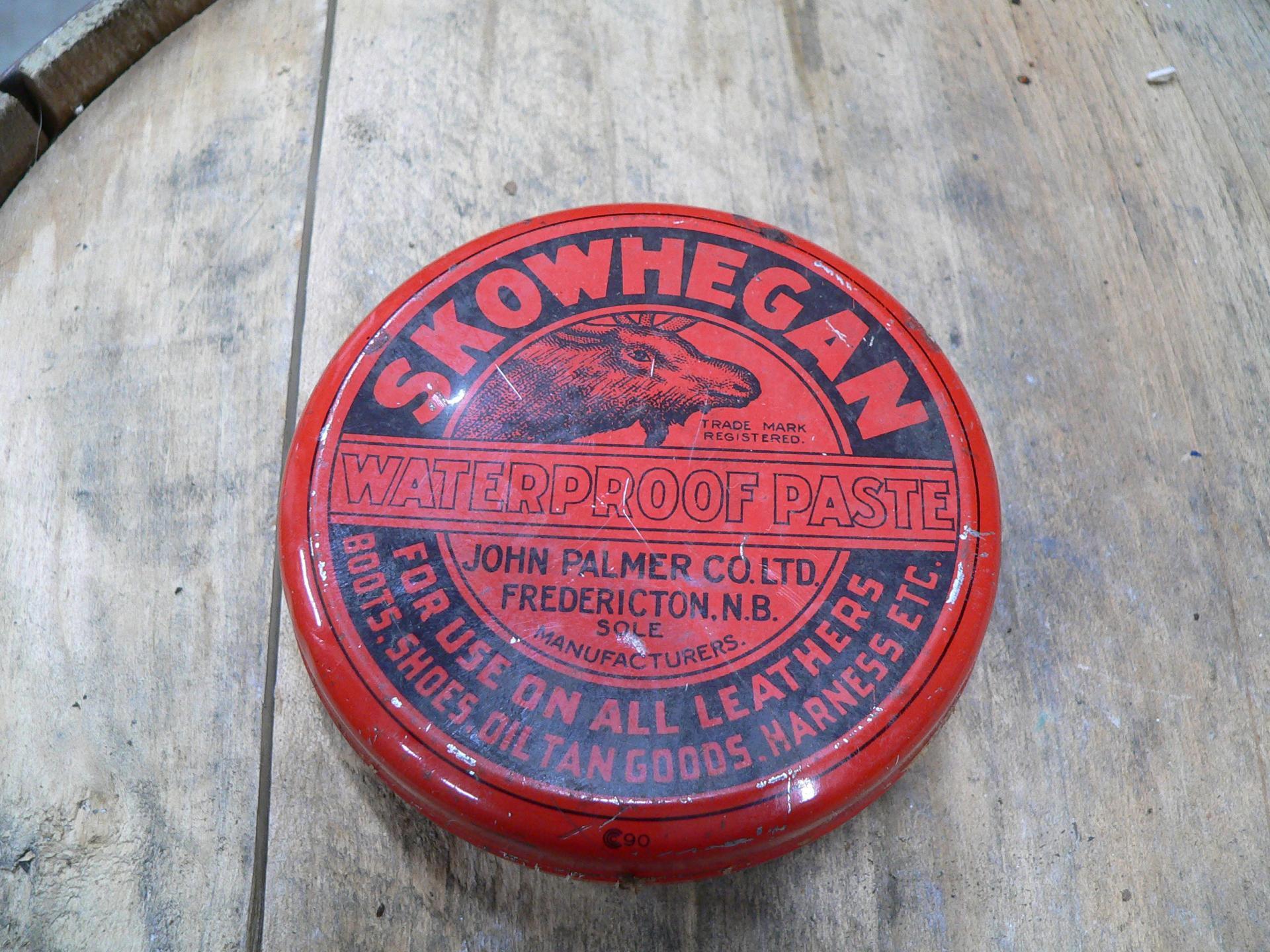 Cane de tôle antique skowhegan # 5099.6