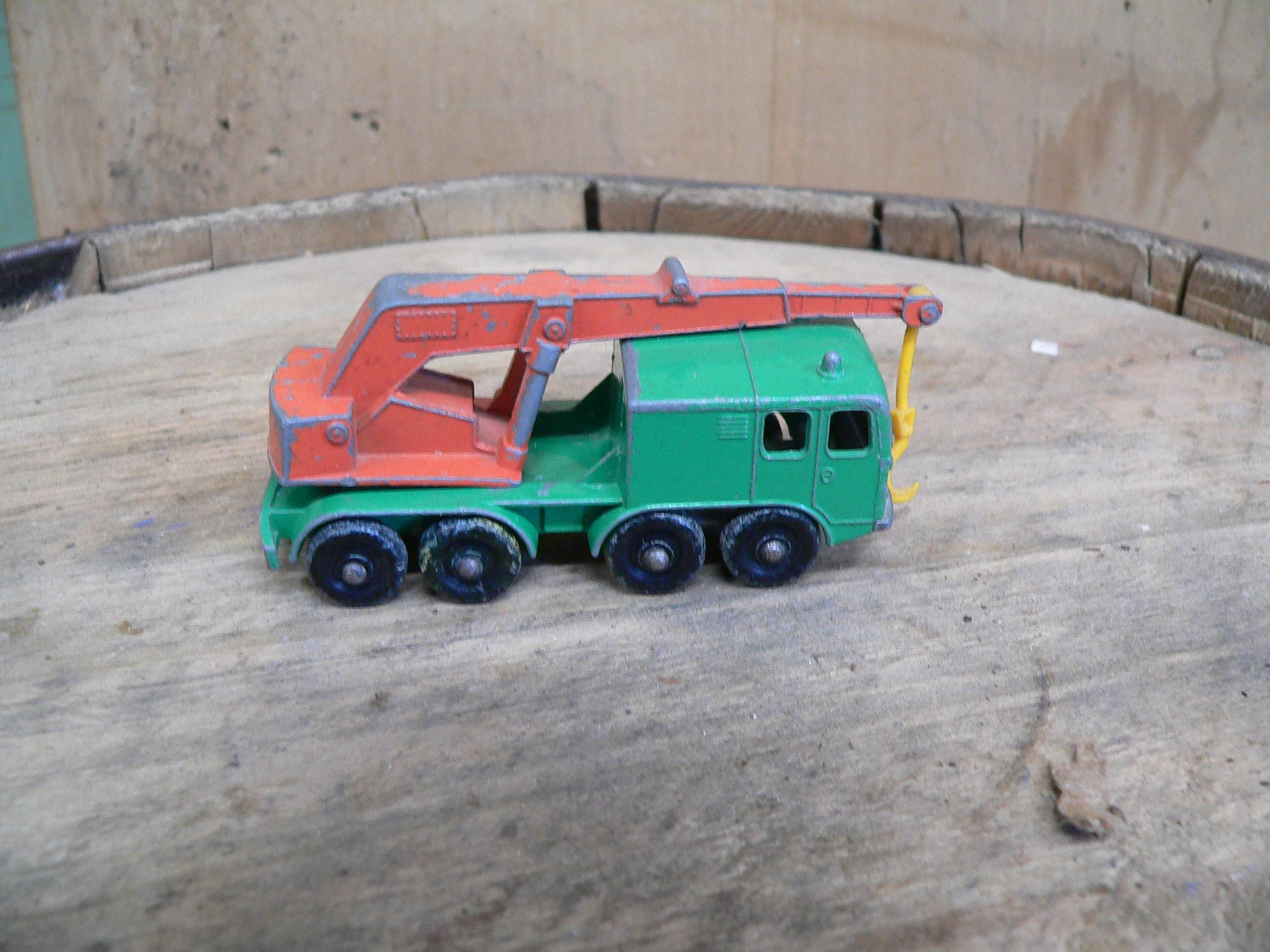 8-wheel crane truck # 5374.14