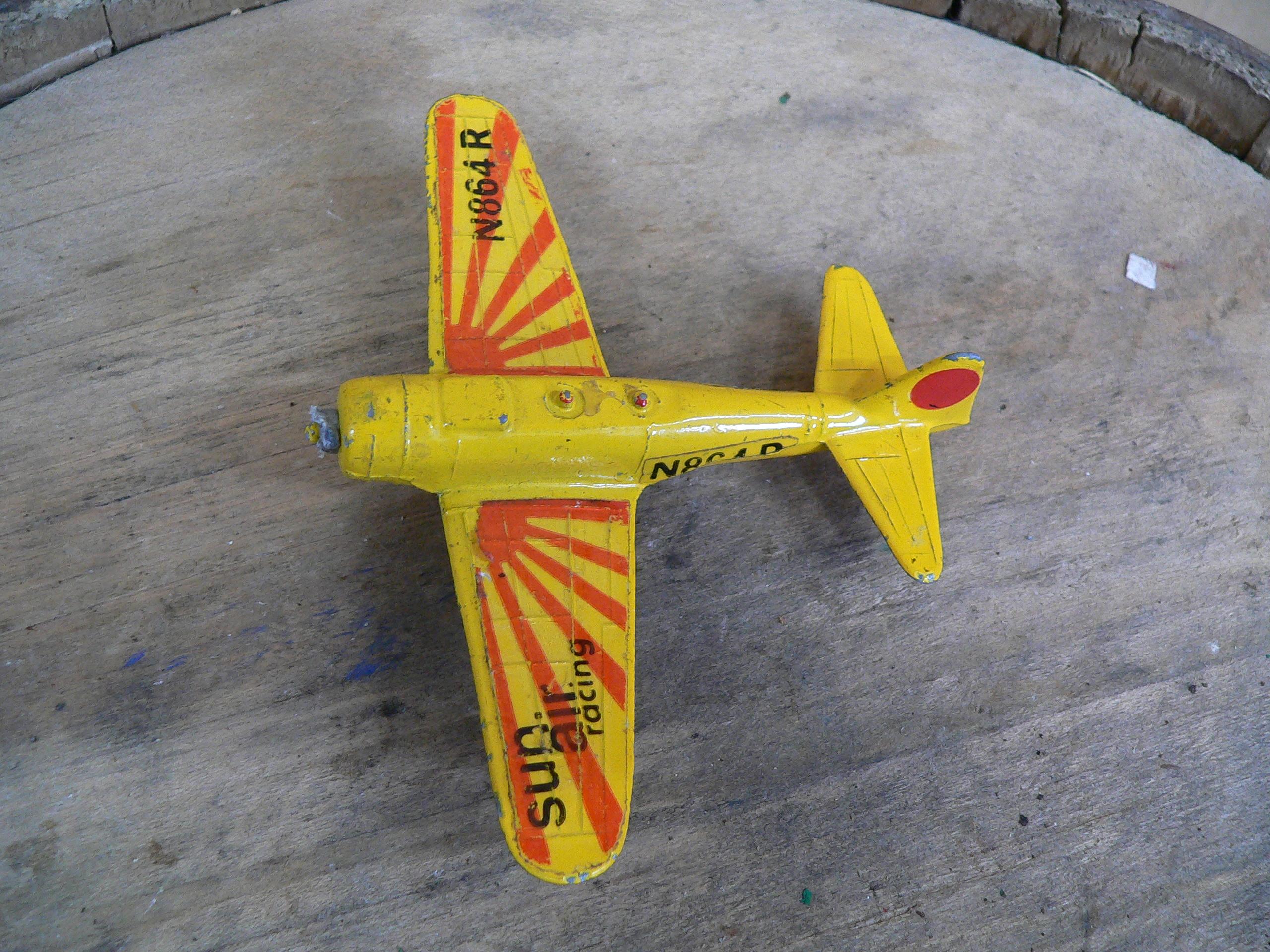 Vintage die cast zylmex airplane zero a 114 # 5374.23