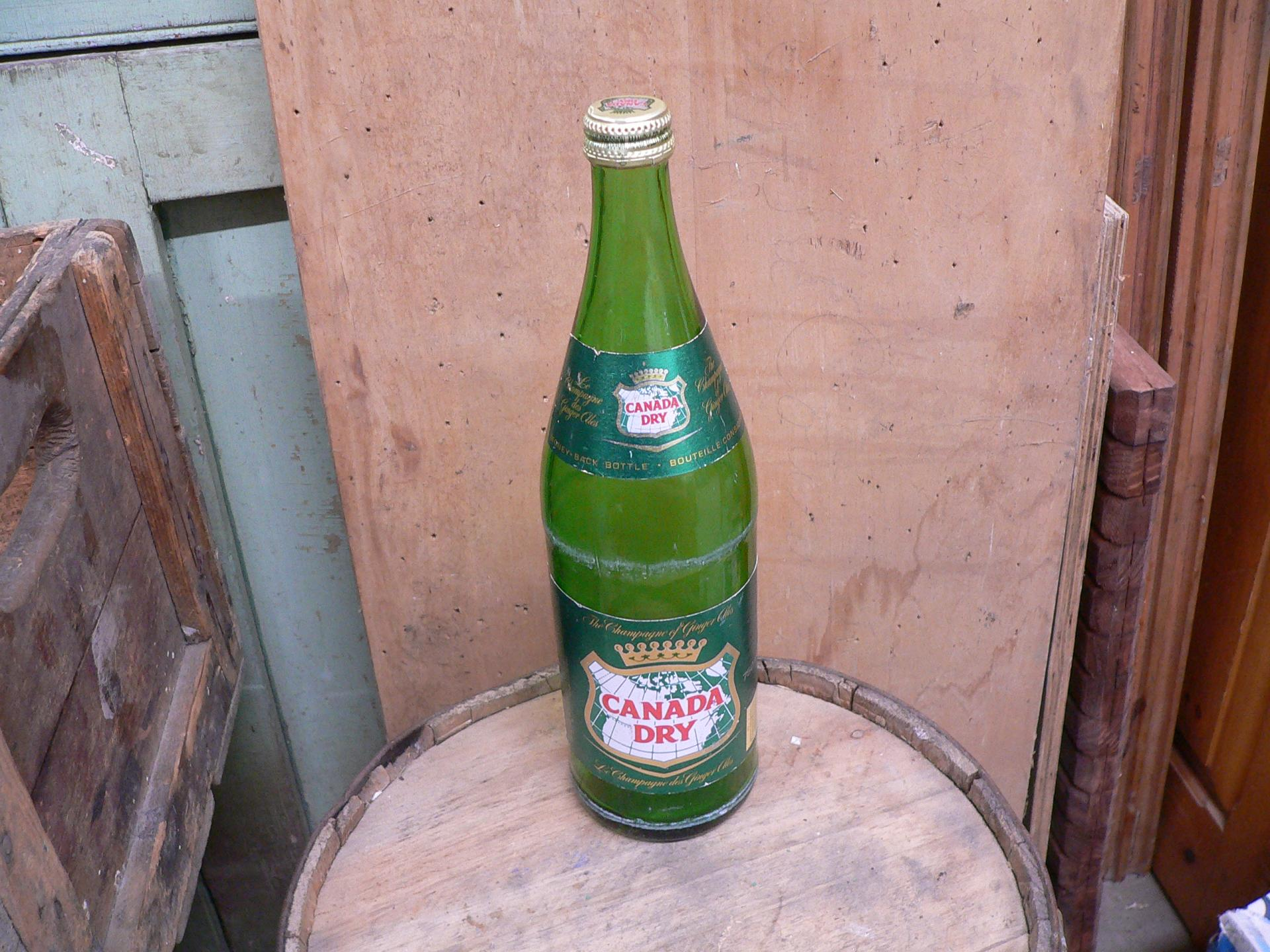 Bouteille antique canada dry # 5436.3
