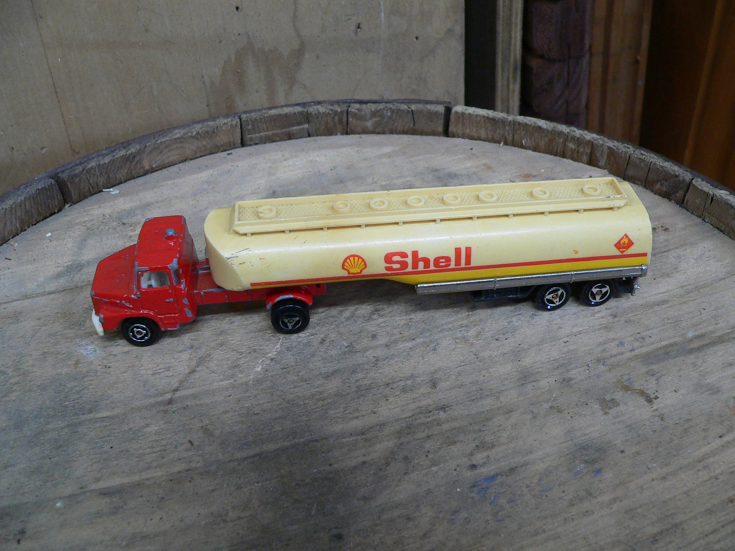 Camion remorque shell # 5446.35