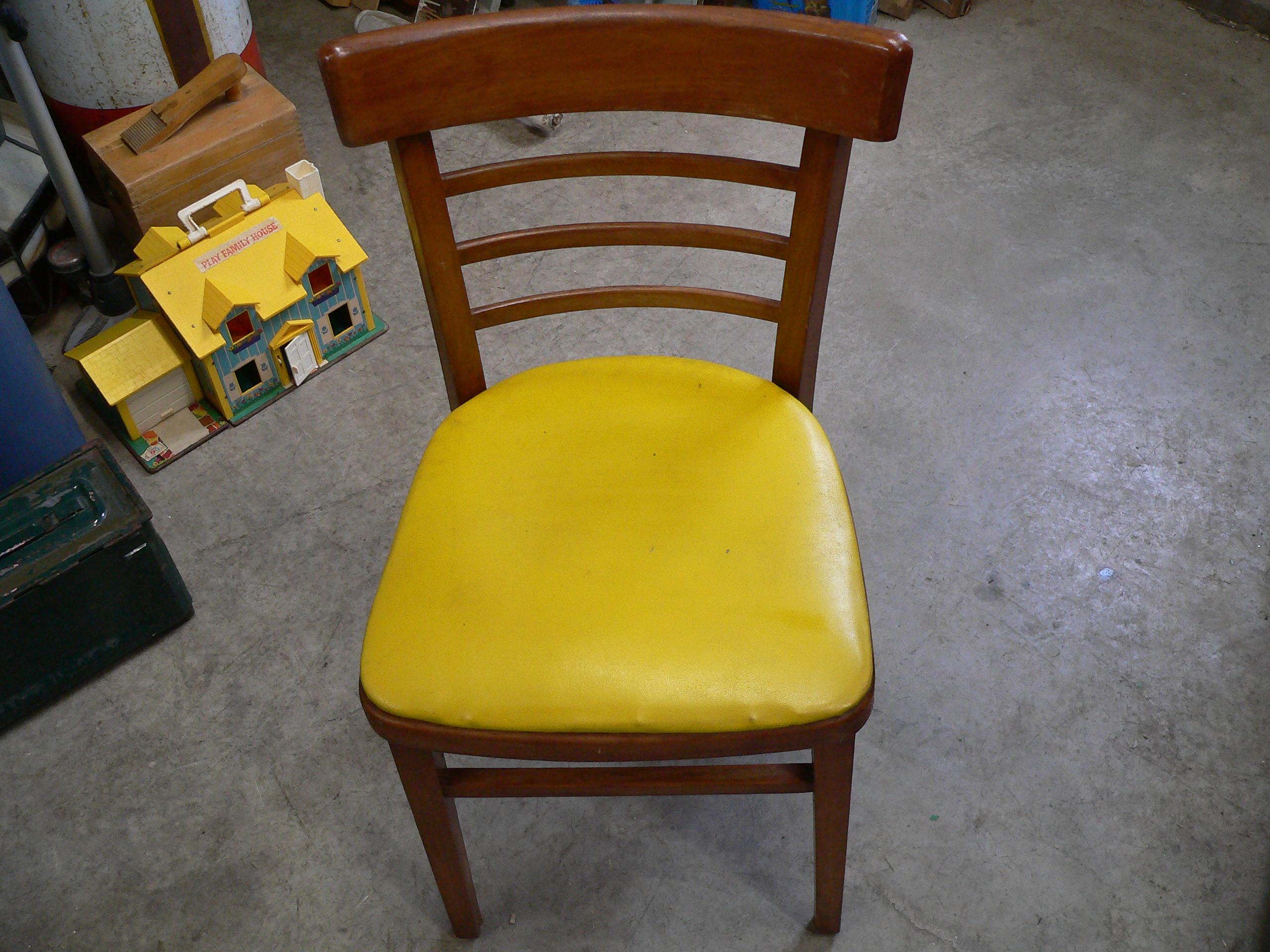 Chaise vintage # 5457.1