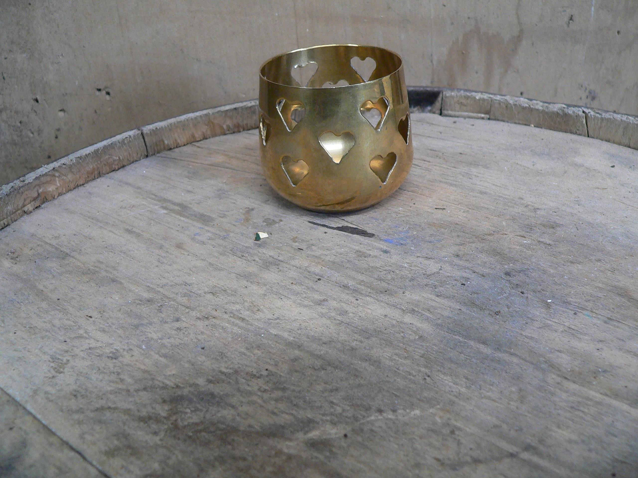 Porte lampion en brasse # 5656.4