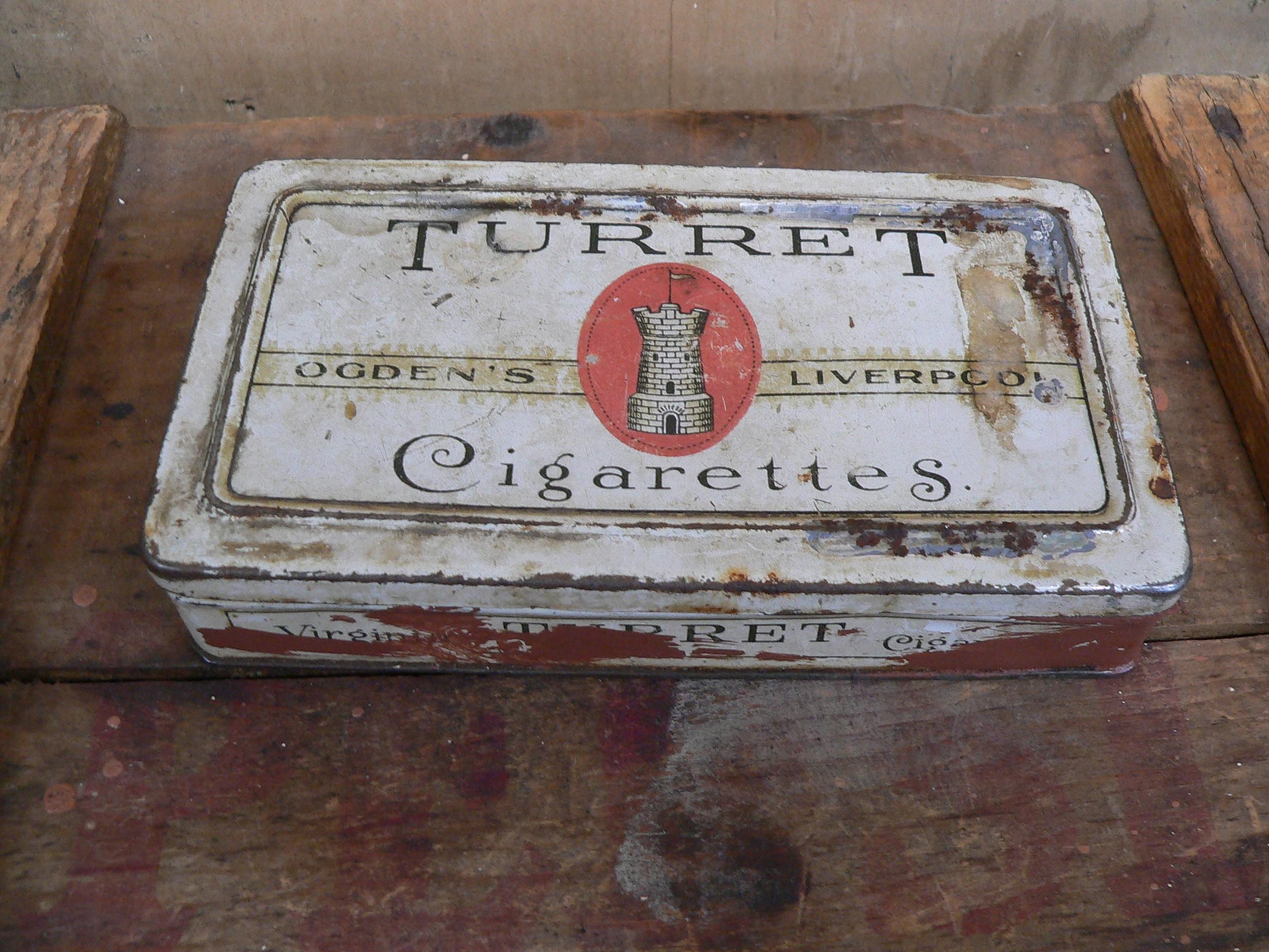 Boite de cigarette turret # 5680.1