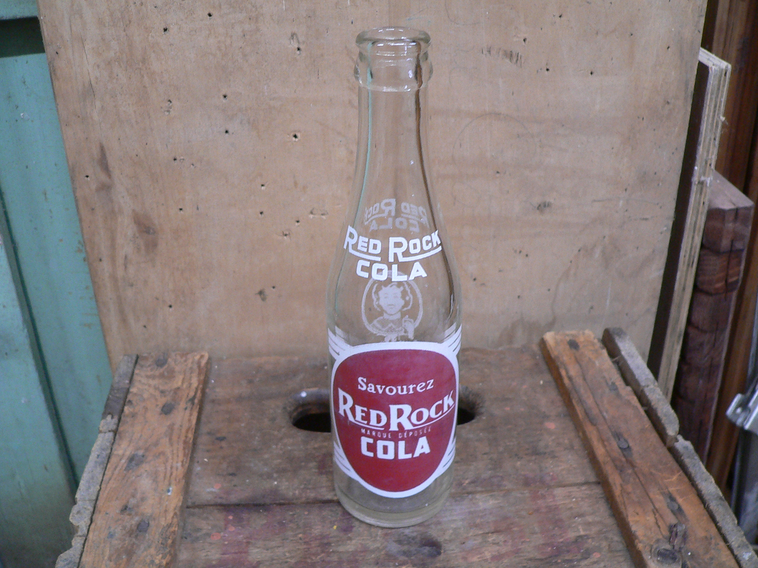 Bouteille antique red rock cola # 5705.1
