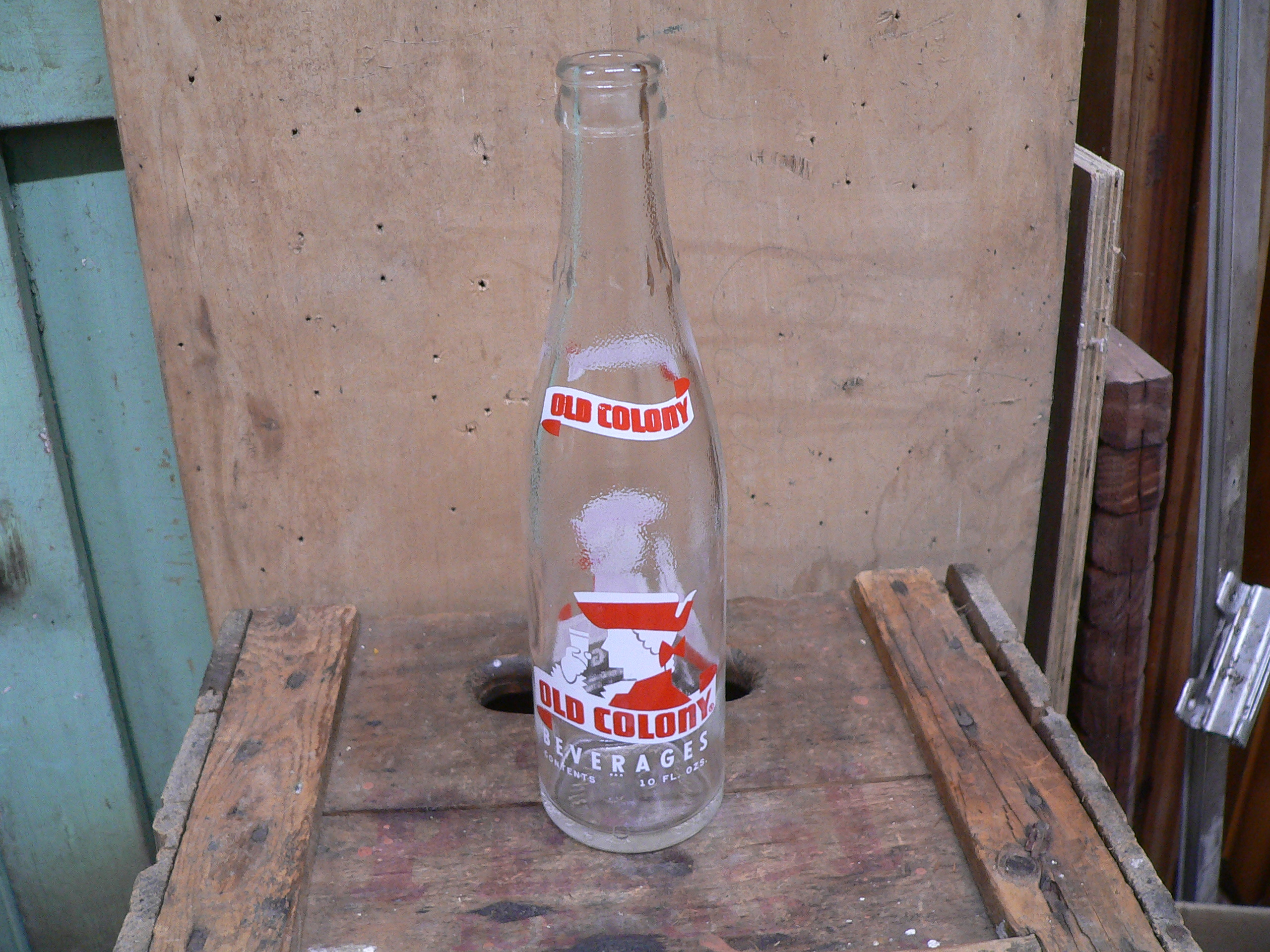 Bouteille antique old colony beverages # 5746.1