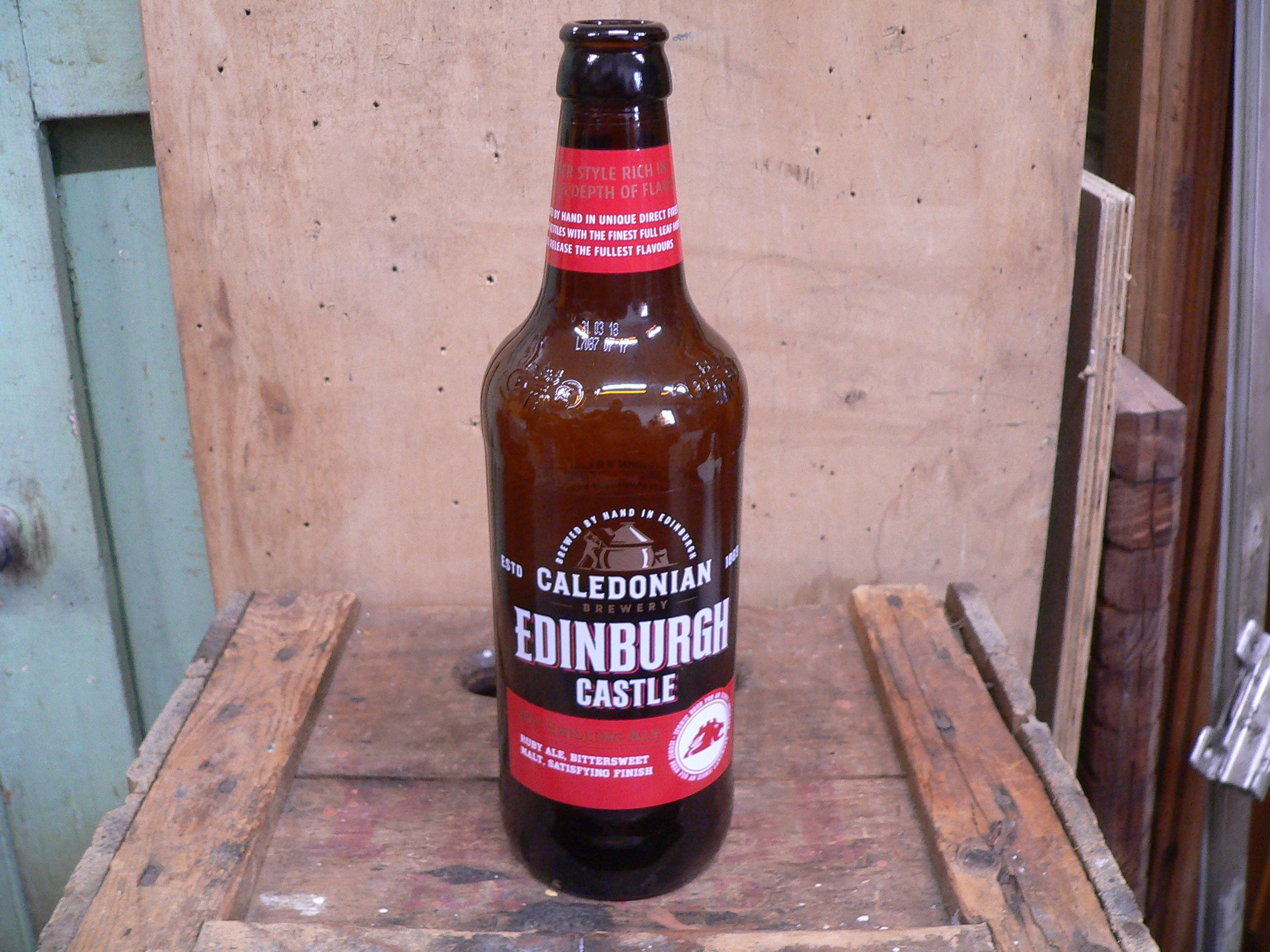 Bouteille bière edinburgh castle # 5760.5