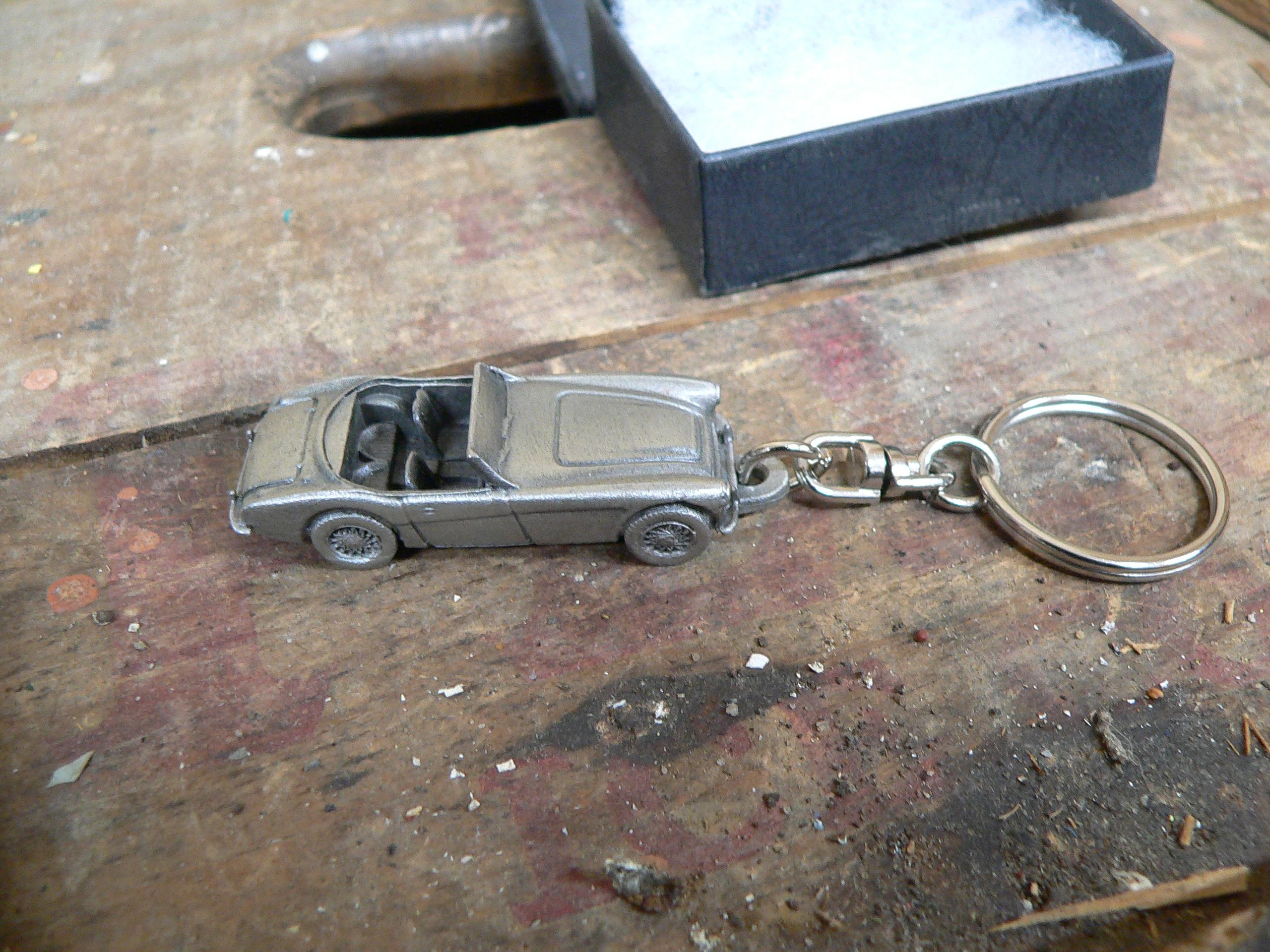 Porte clé d'auto en étain # 5894.6