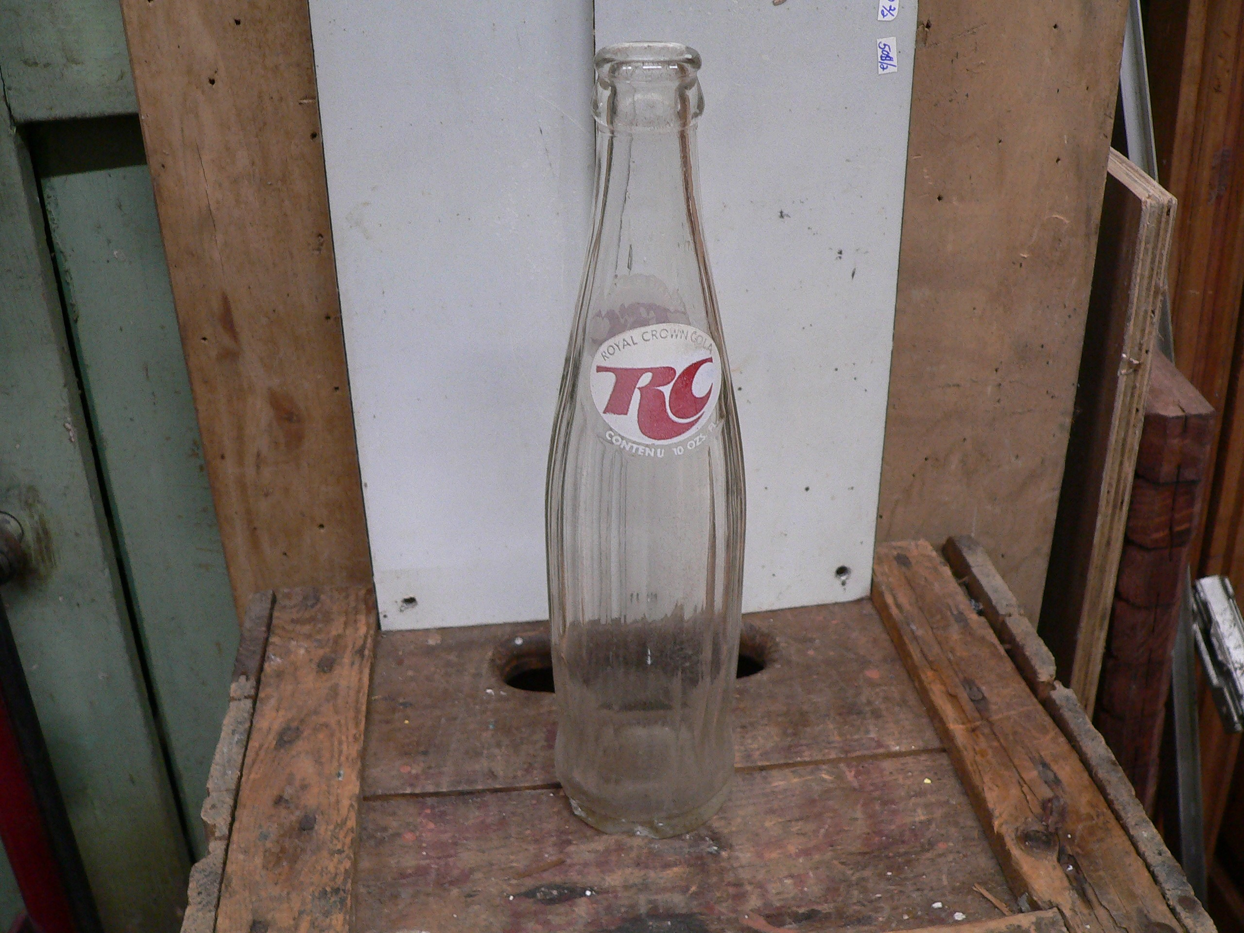 Bouteille antique RC cola # 5916.3
