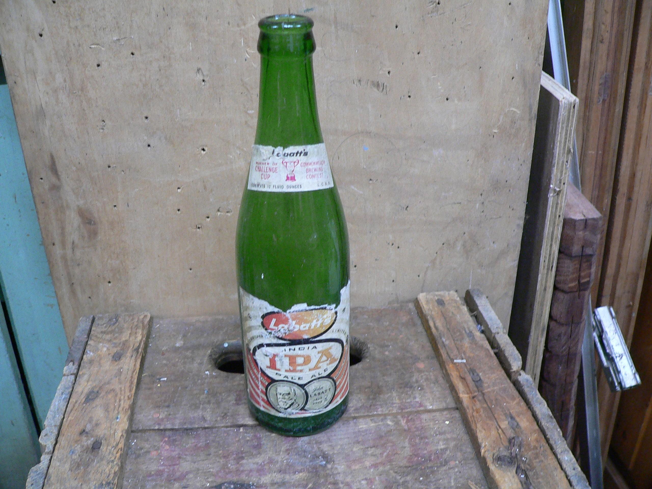 Bouteille bière labatt's IPA # 5920.3