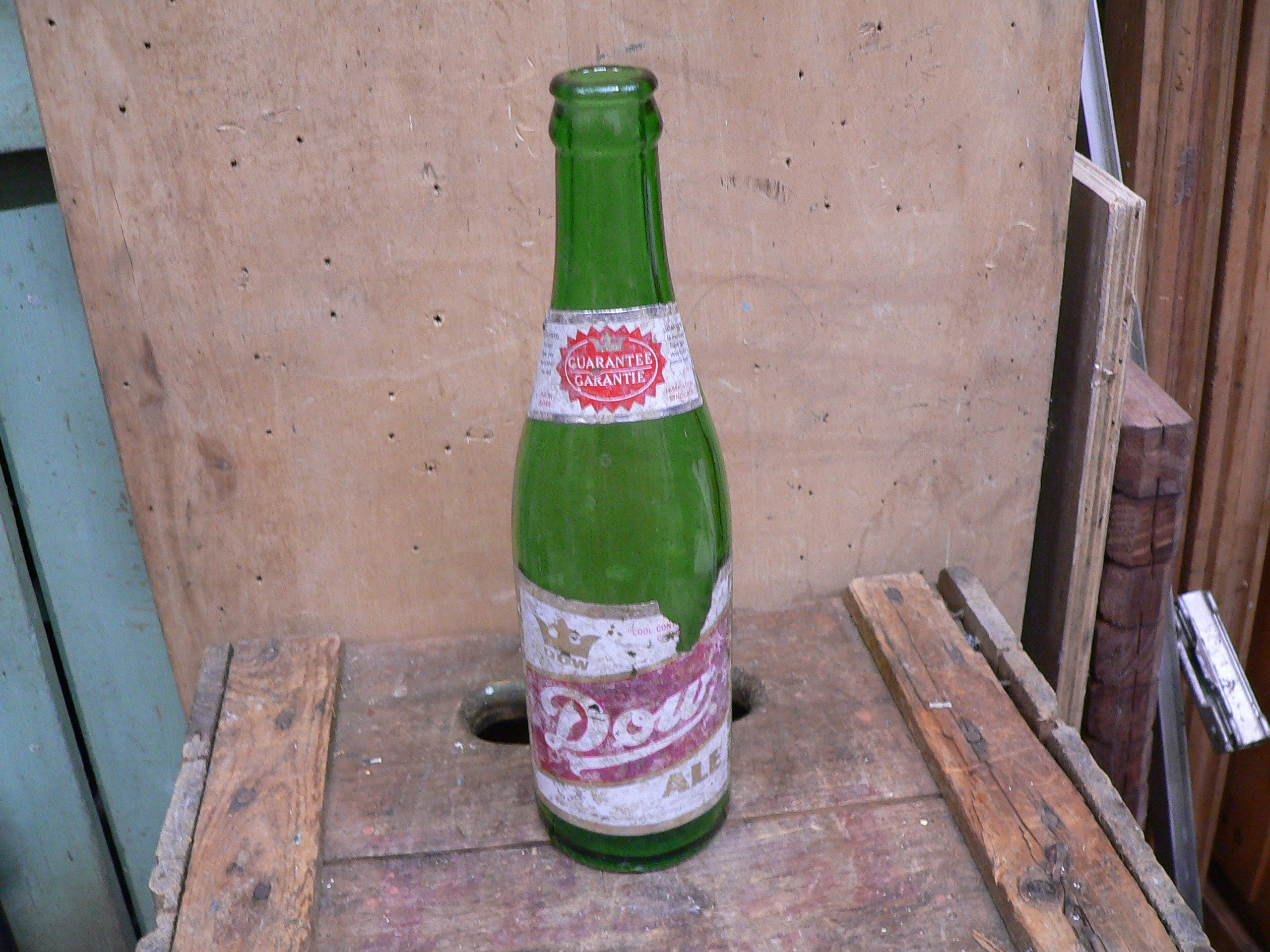Bouteille bière dow ale # 5920.4