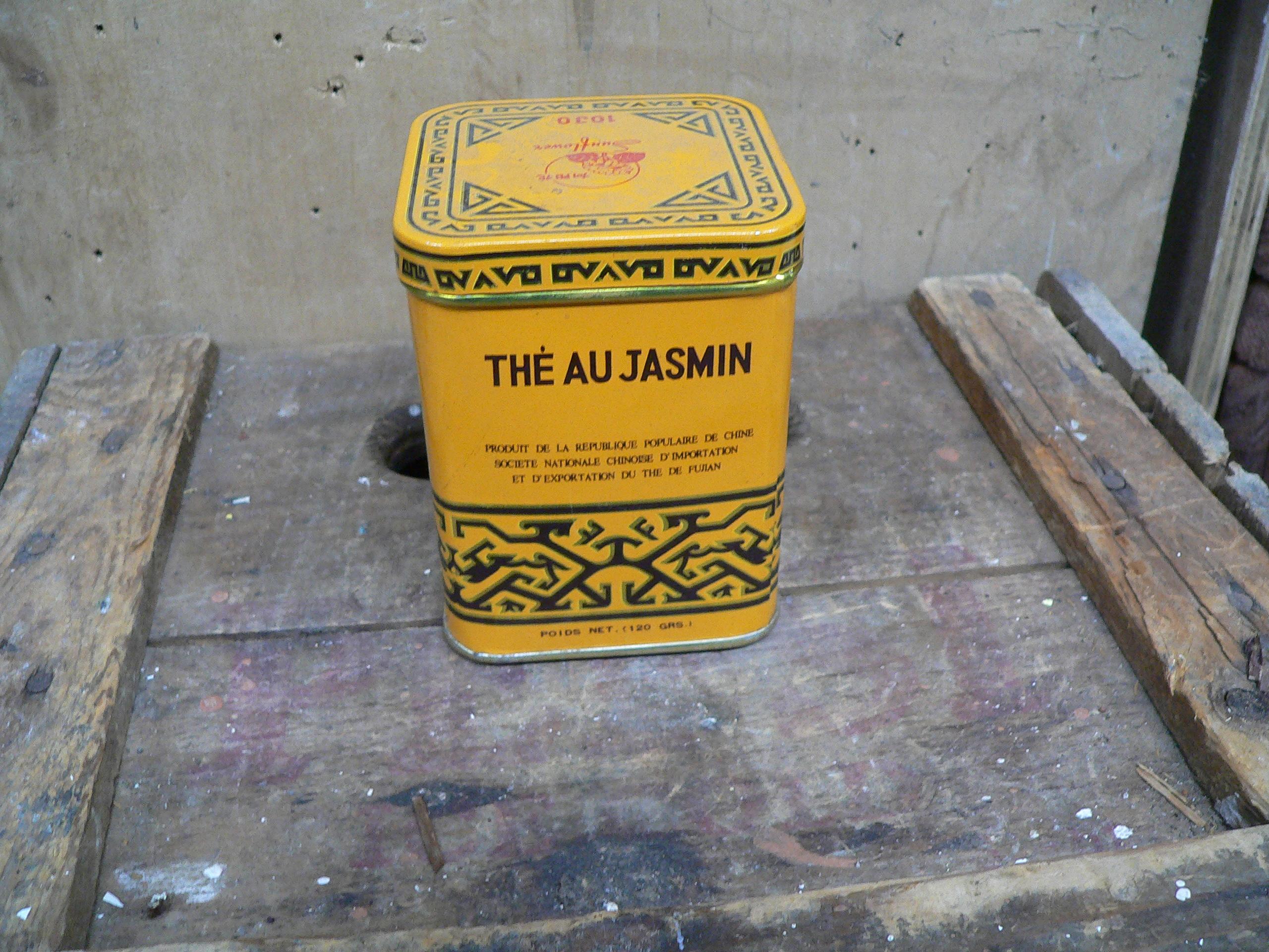 Boite de thé au jasmin # 5921.5