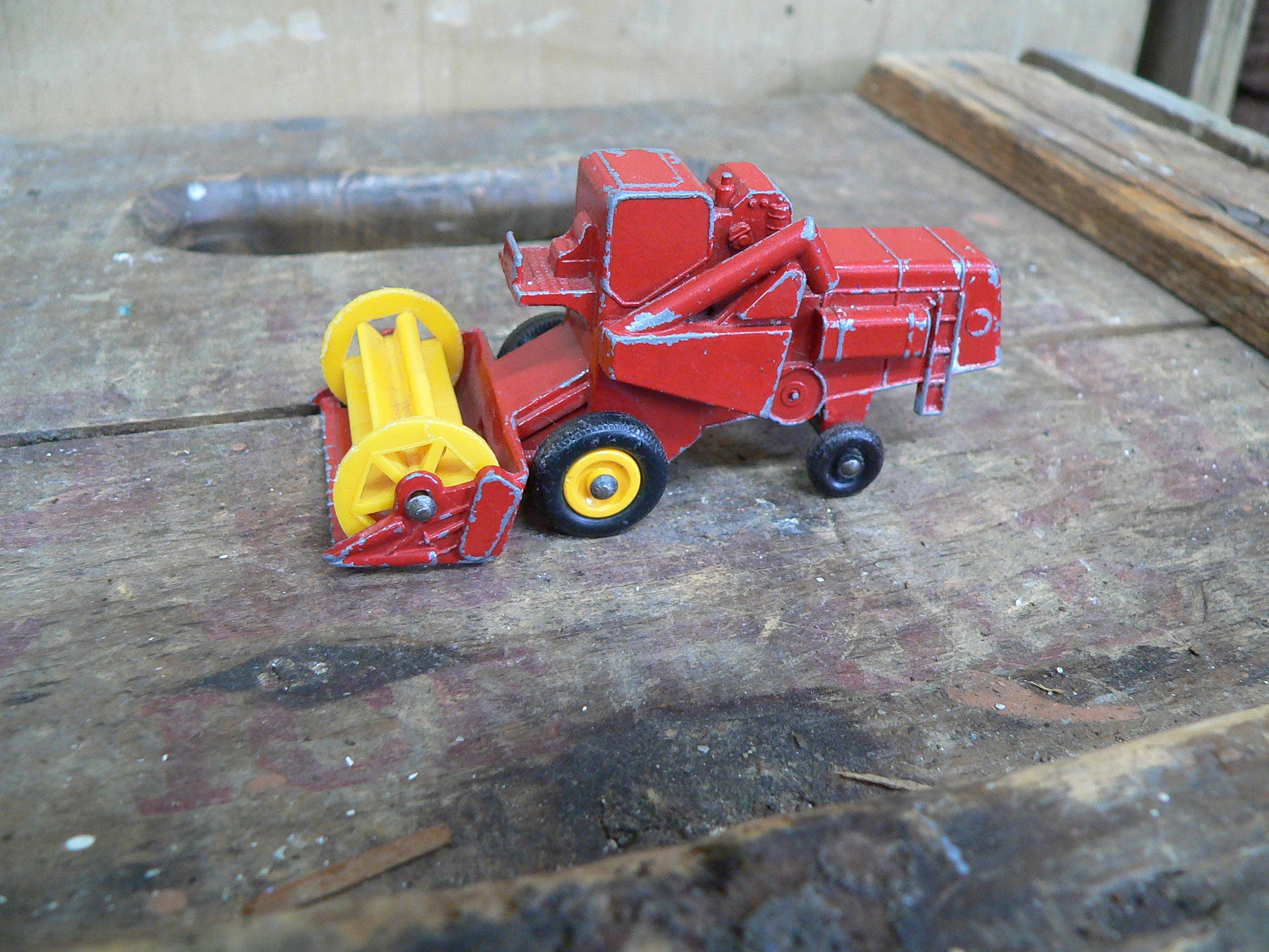 Claas combine harvester # 5928.2