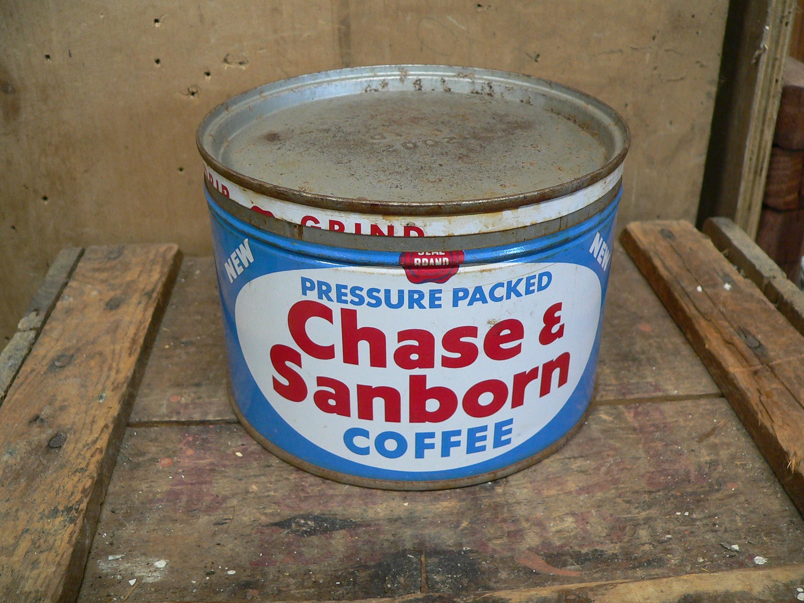 Canne de café chase & sanborn # 6031.2