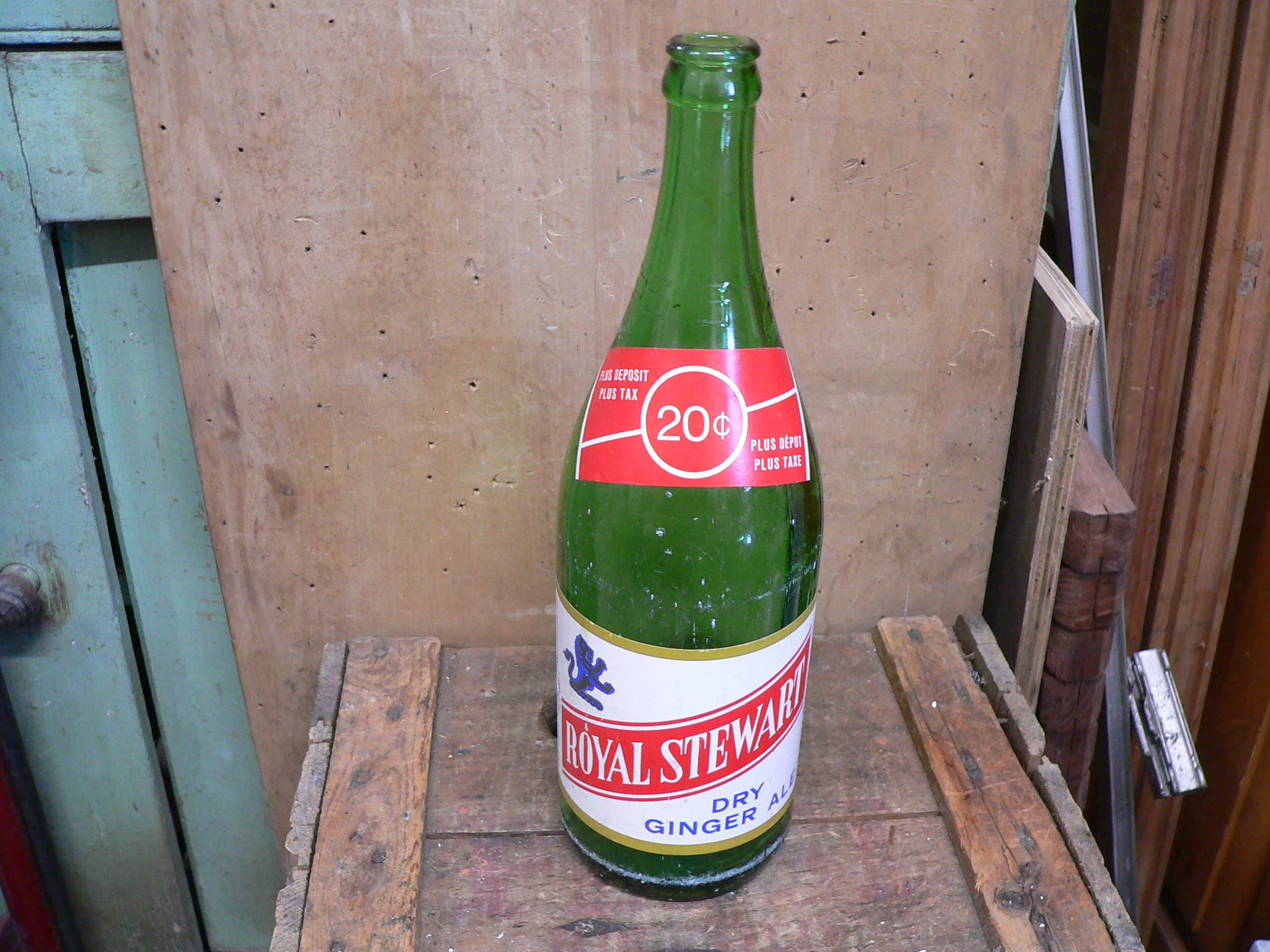 Bouteille antique royal stewart dry ginger ale # 6050.2