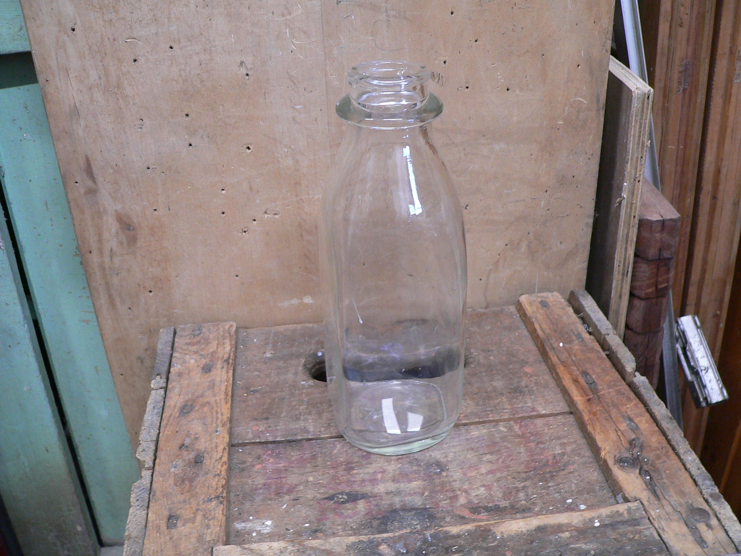 Bouteille lait antique # 6050.6