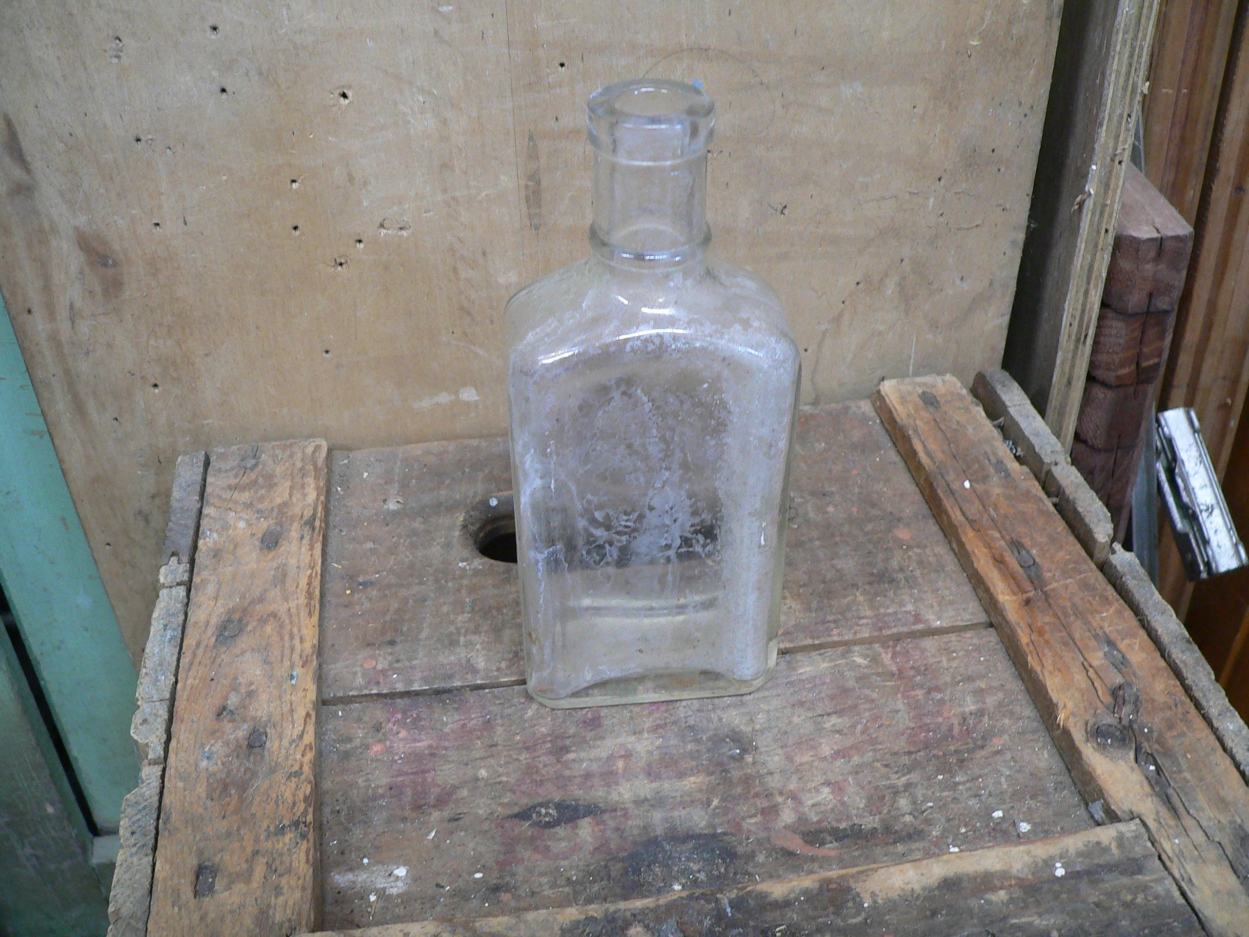 Bouteille antique de médicament rundle's liniment # 6051.2
