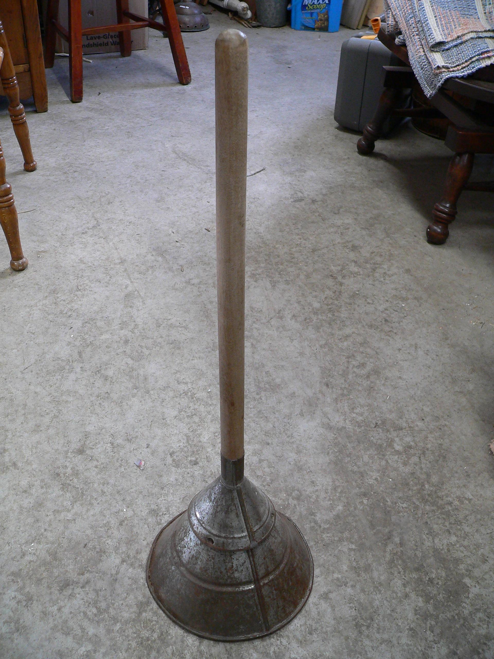 Bâton pour laver le linge # 6134.2