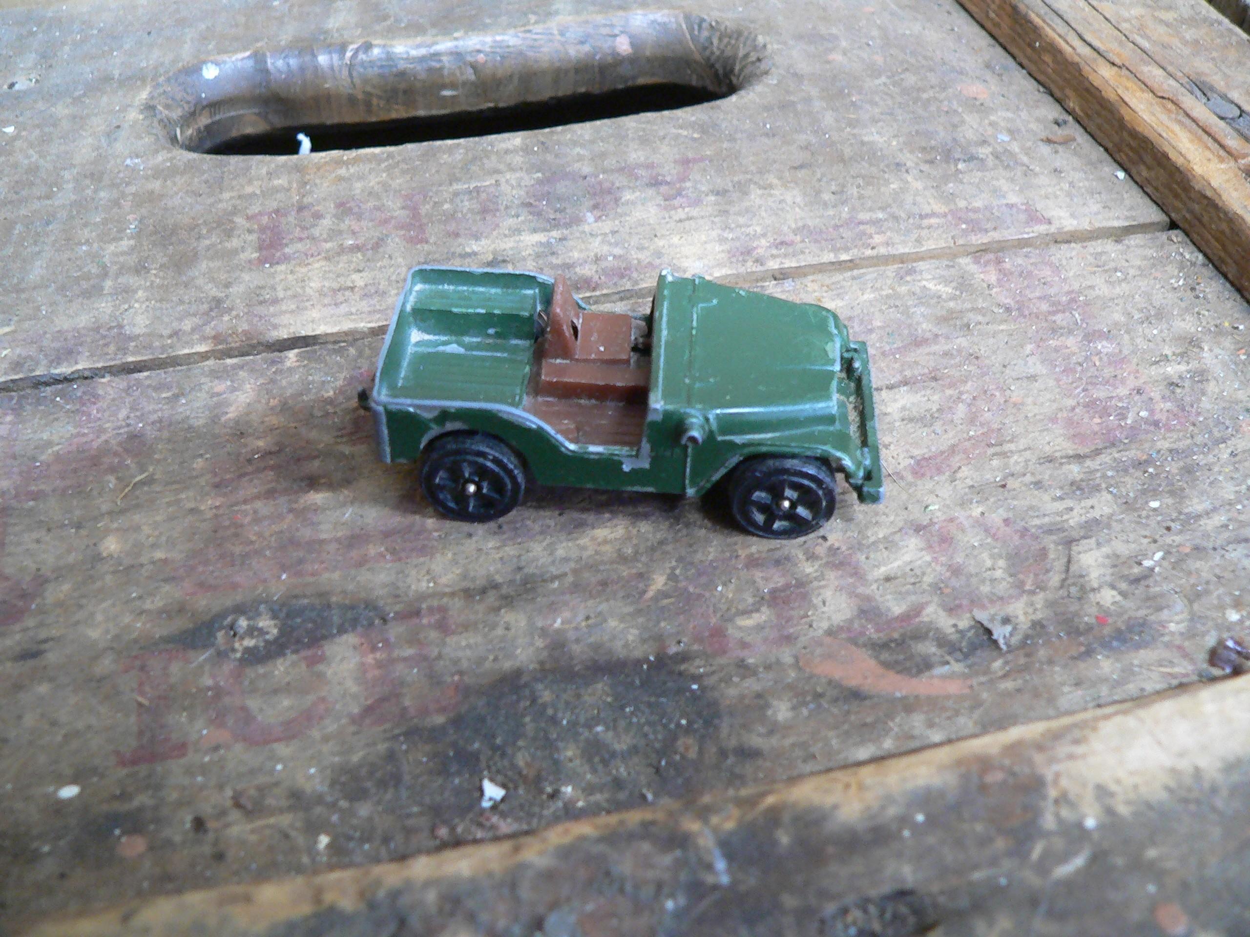 Corgi juniors willys jeep # 6199.12