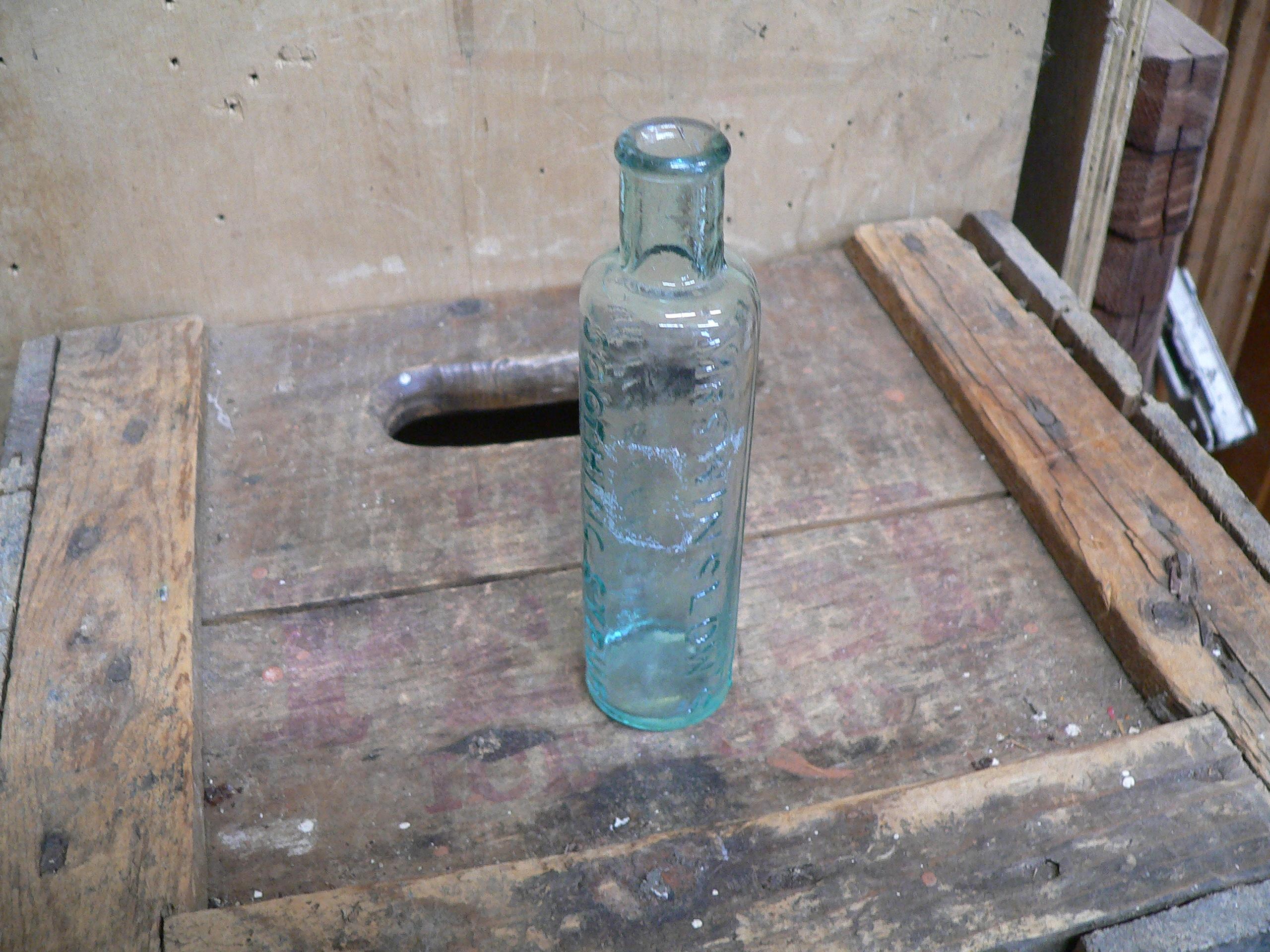 bouteille antique d'apothicaire # 6233.1