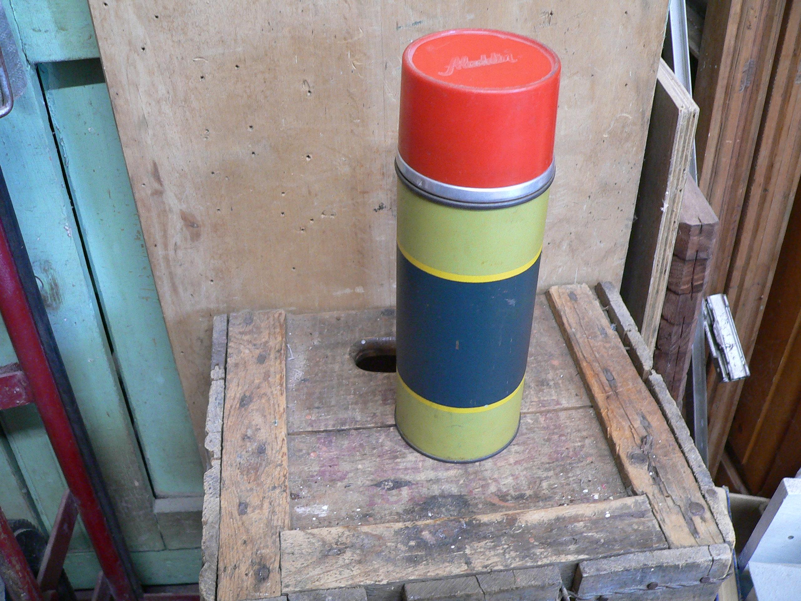 Vieux thermos vintage aladin # 6253.18