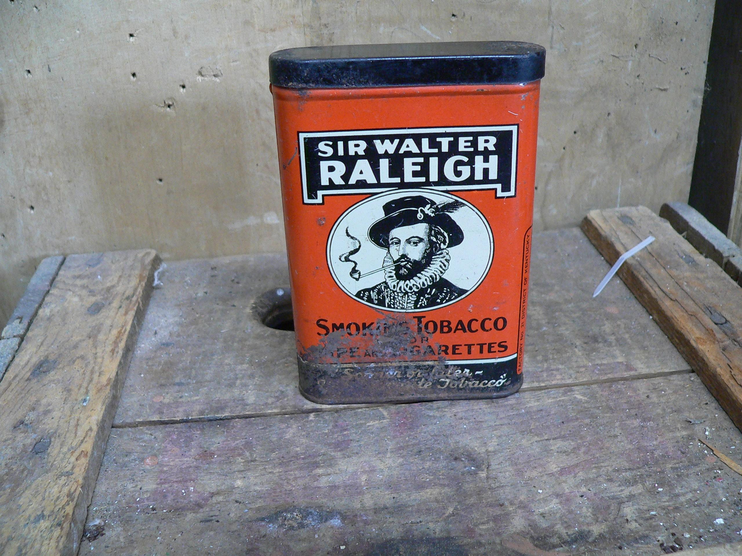 Boite de cigarette antique # 6378.5