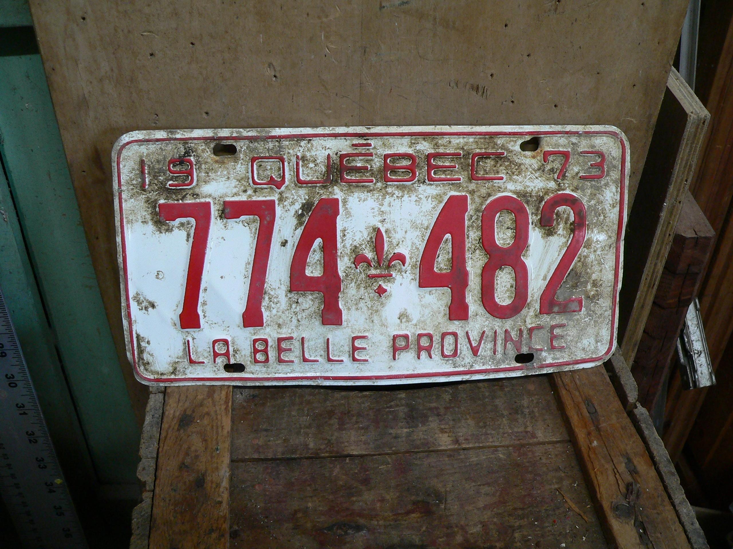 Plaque 1973 # 6381.38