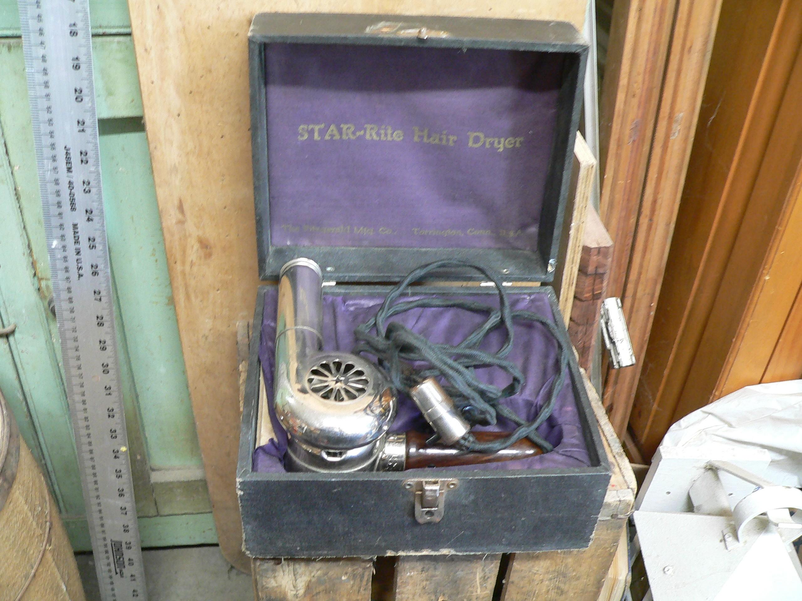 Séchoir électrique antique  # 6499.1