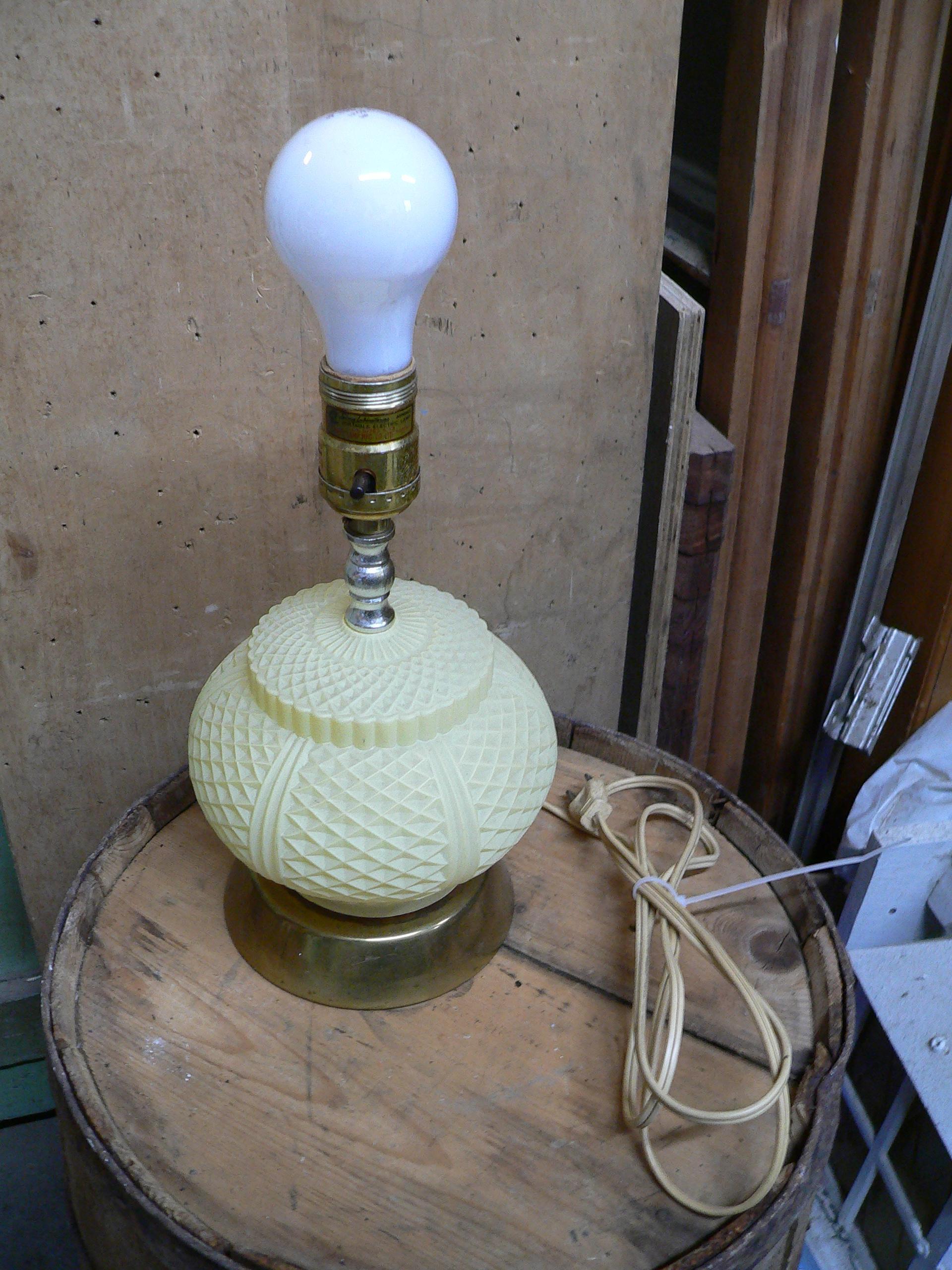 Petite lampe vintage # 6703