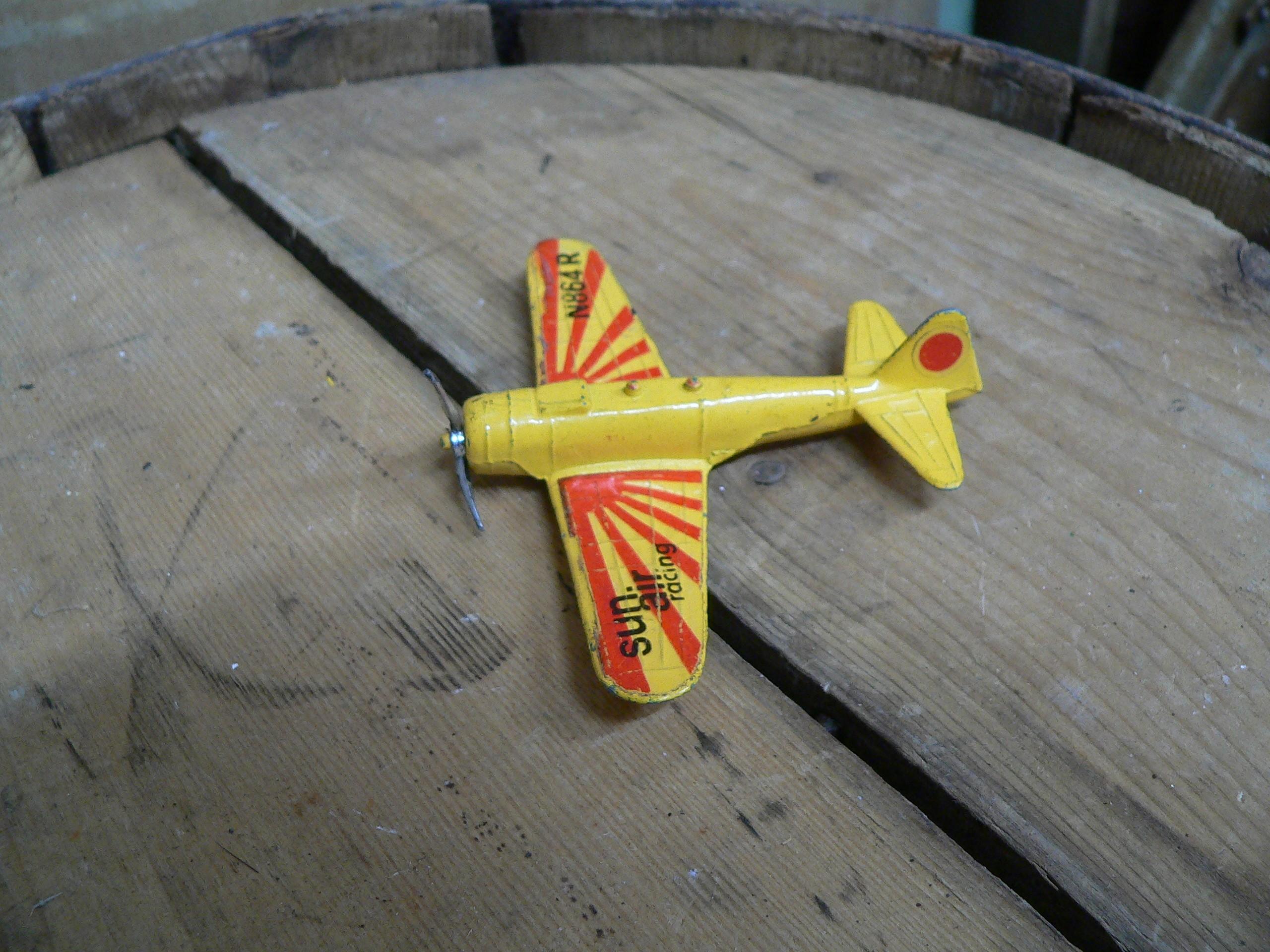 Vintage Zylmex airplane zero A114 sun air racing # 6793